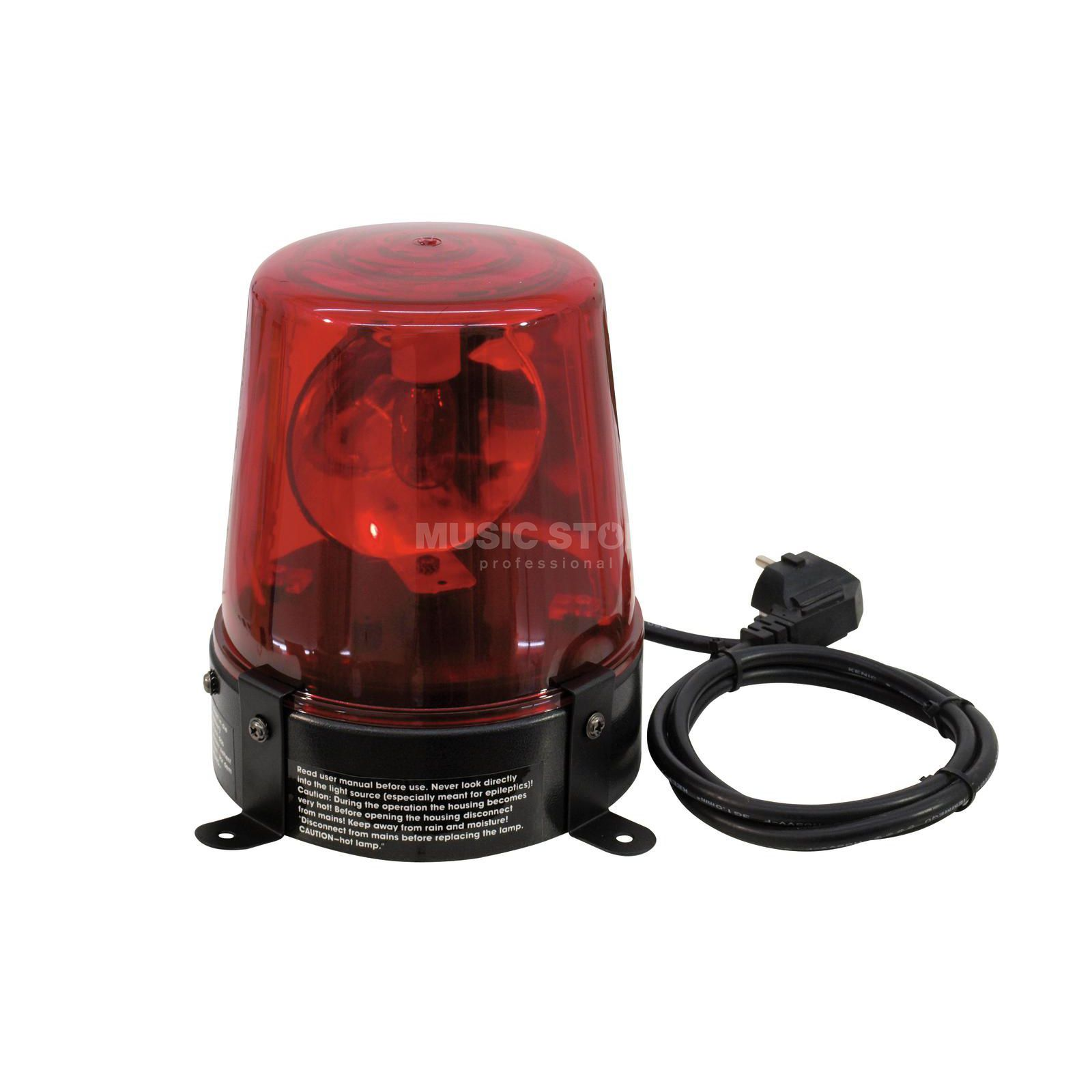 Eurolite Police Light 15 W RED incl. Cable & Plug Produktbillede