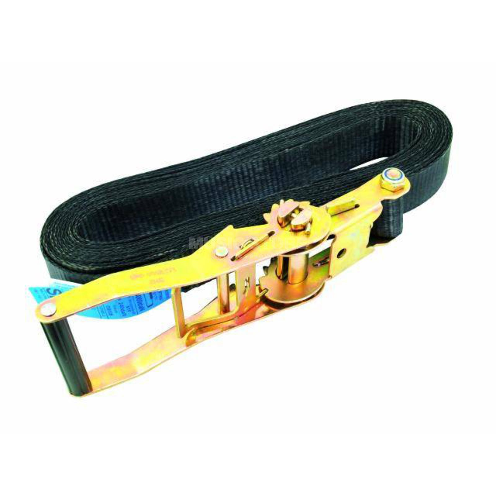 Eurolite S800 Lashing Strap with Ratchet - 8m/50mm Black Produktbillede