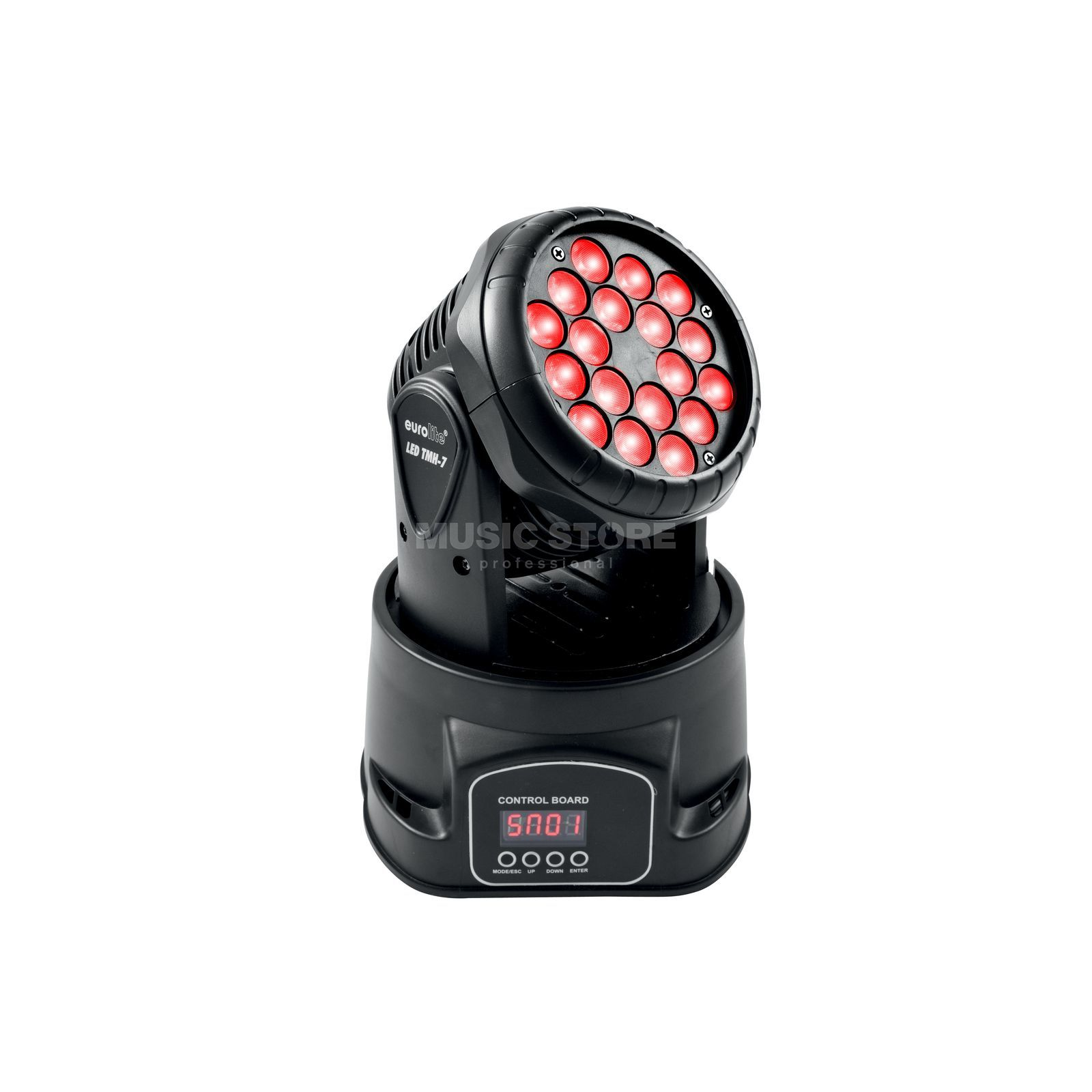 Eurolite TMH-7 LED Moving-Head 18 x 3 Watt Tricolor LED Produktbild