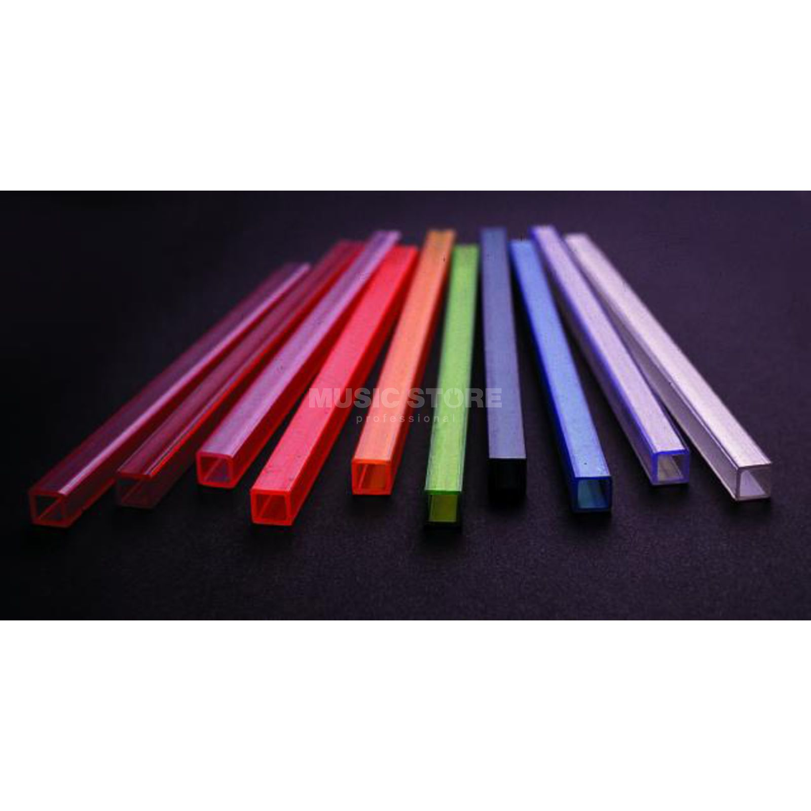 Eurolite Tube 10x10mm violet for TL 1-Channel Tubelight 2m Produktbillede
