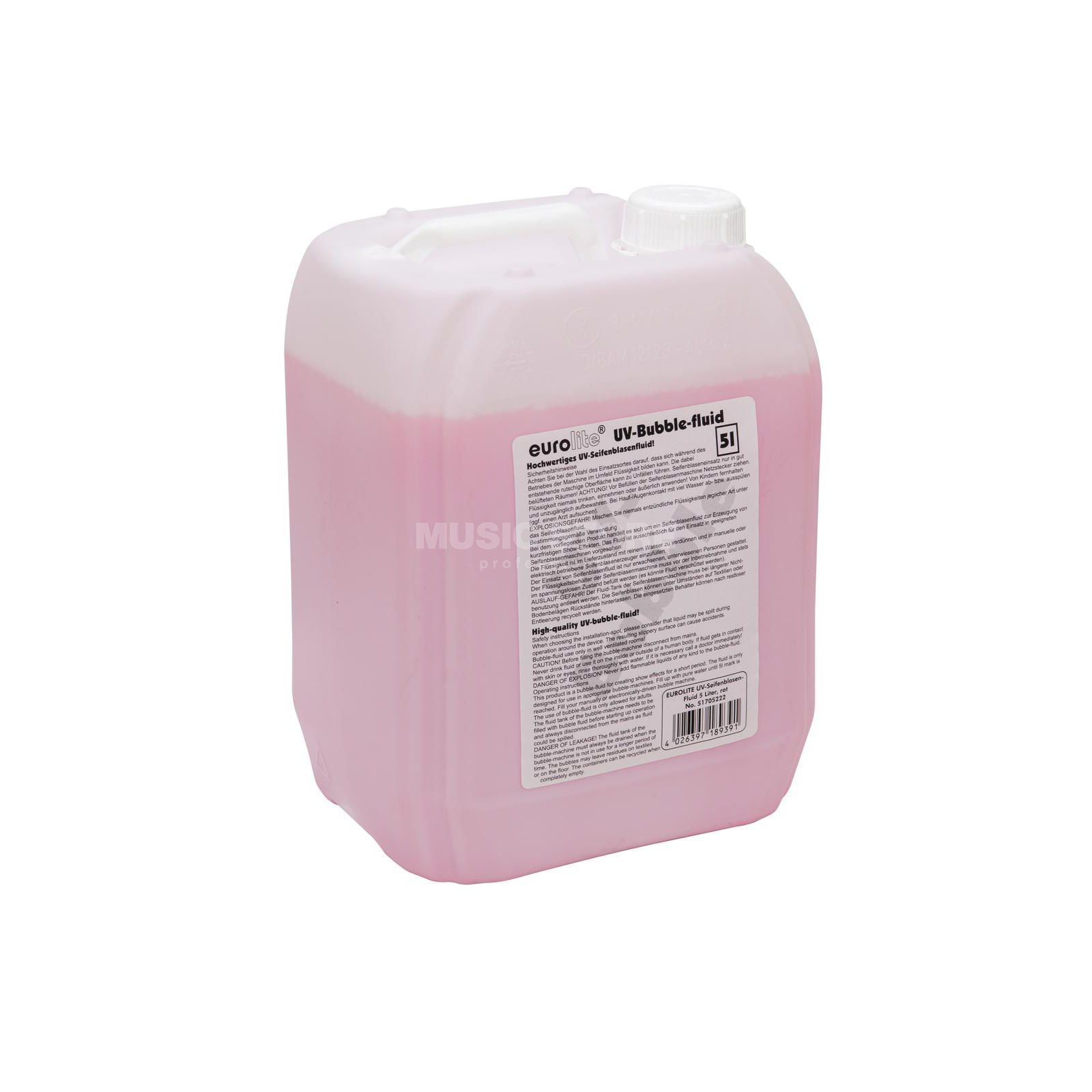 Eurolite UV-Bubble Fluid 5l - Red Produktbillede