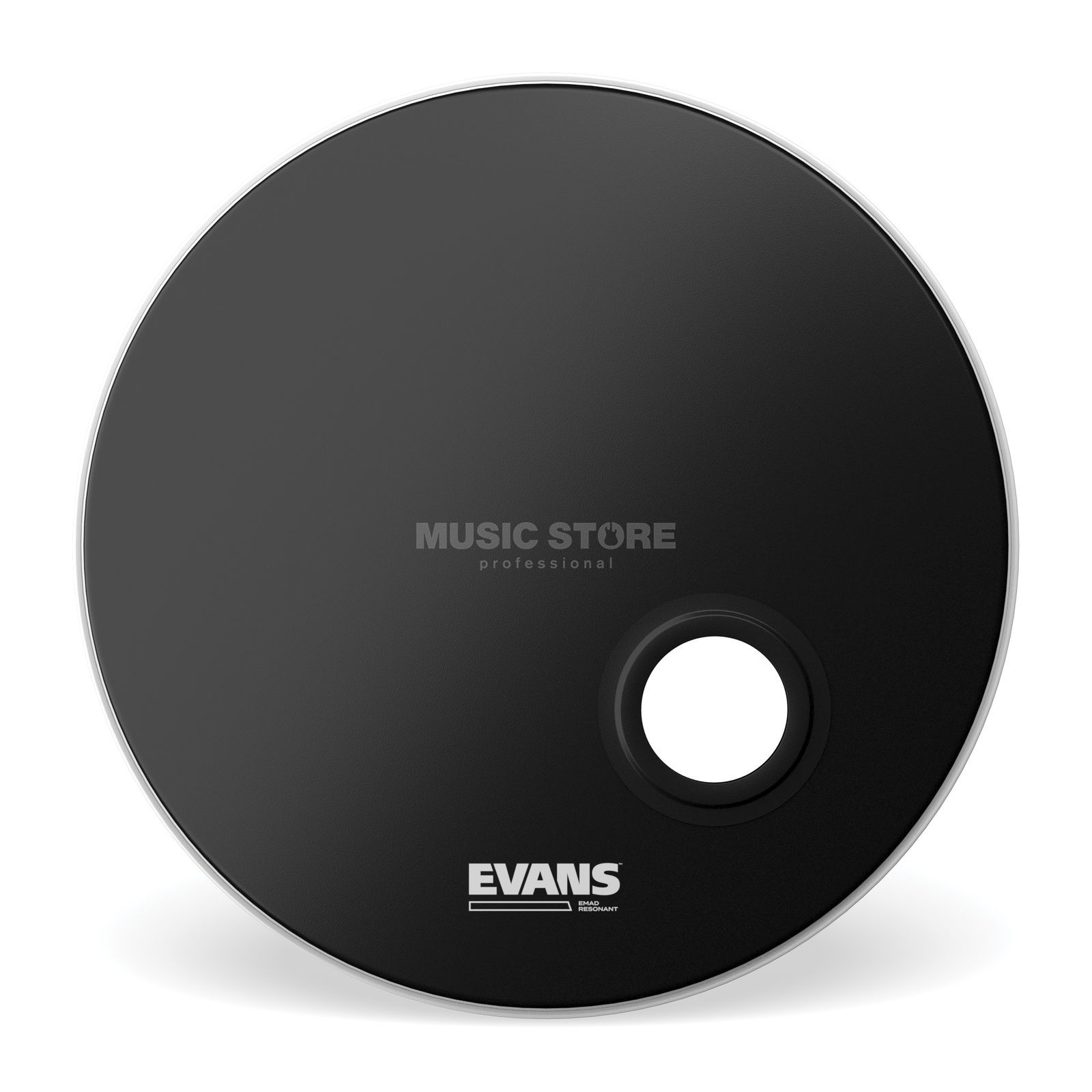 "Evans BD20REMAD 20"" Bass Drum Reso Head - Black Product Image"