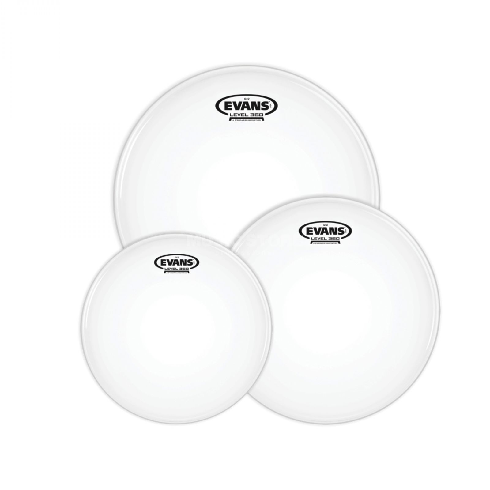Evans Drum Head Pack G12, Coated, Rock, ETP-G12CTD-R Produktbillede