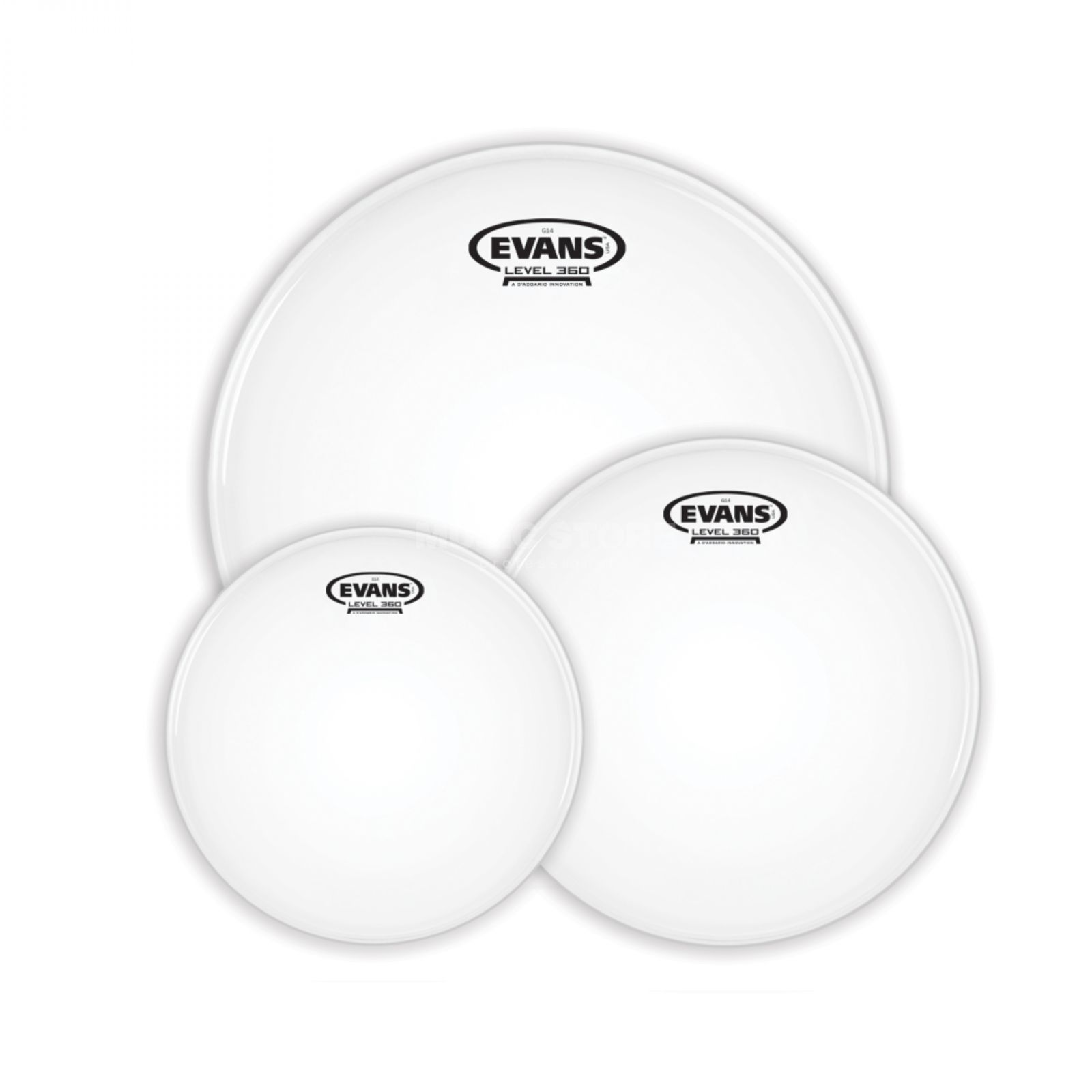 Evans Drum Head Pack G14, Coated, Rock, ETP-G14CTD-R Produktbillede