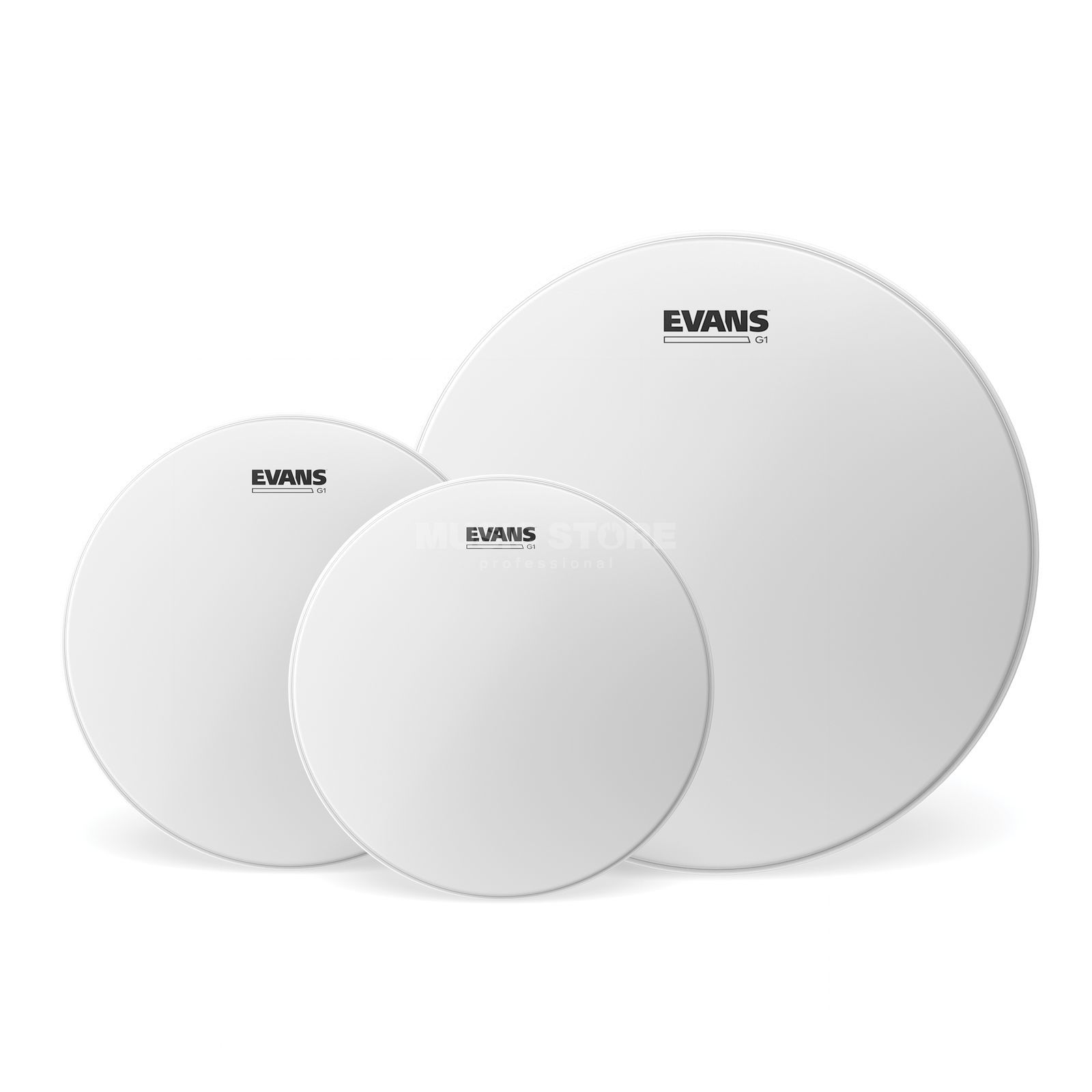 Evans Drumhead Set G1, coated, Rock, ETP-G1CTD-R Product Image
