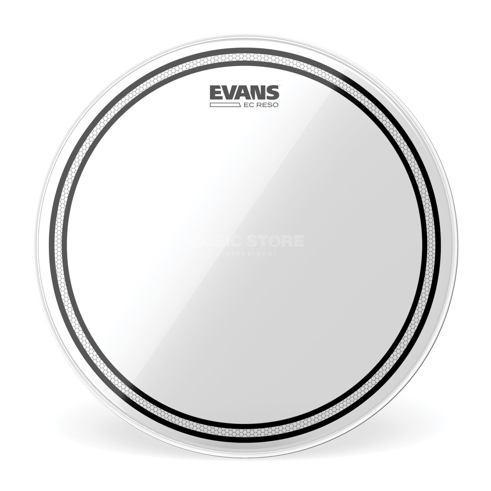"Evans EC Resonant 08"", TT08ECR, Tom Reso Product Image"