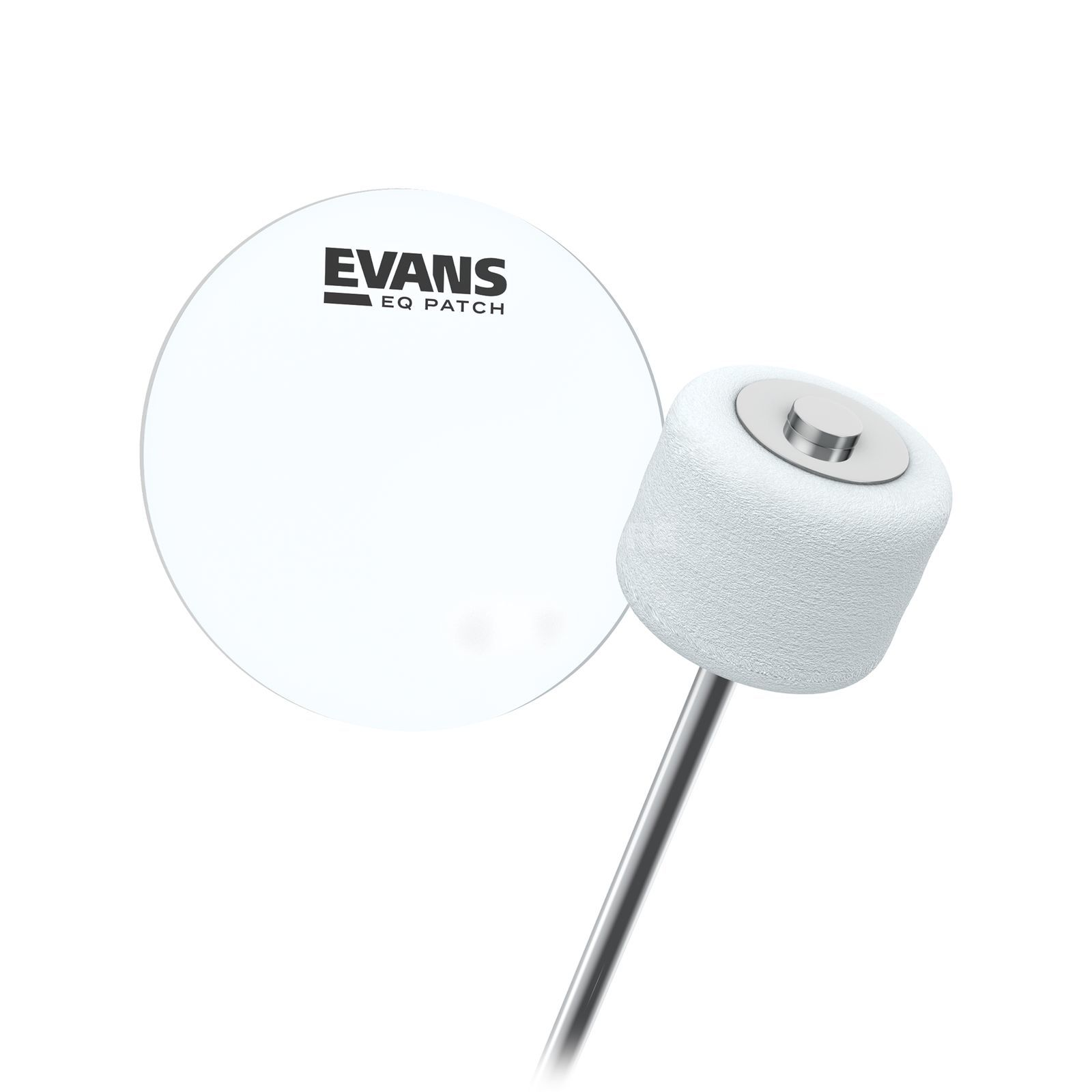 Evans EQ Patch EQPC1 grosse caisse  Patch Image du produit
