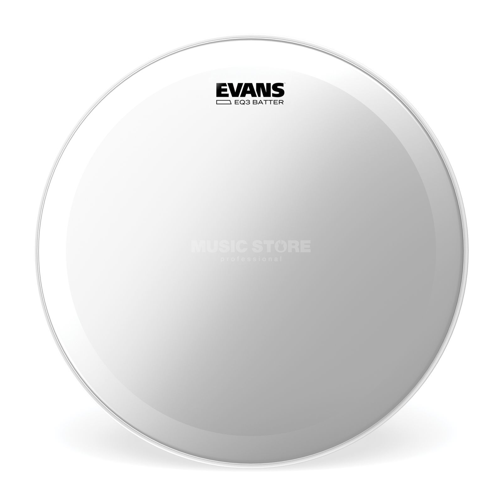 "Evans EQ3 Clear 20"", BD20GB3, Bass Drum Batter Product Image"