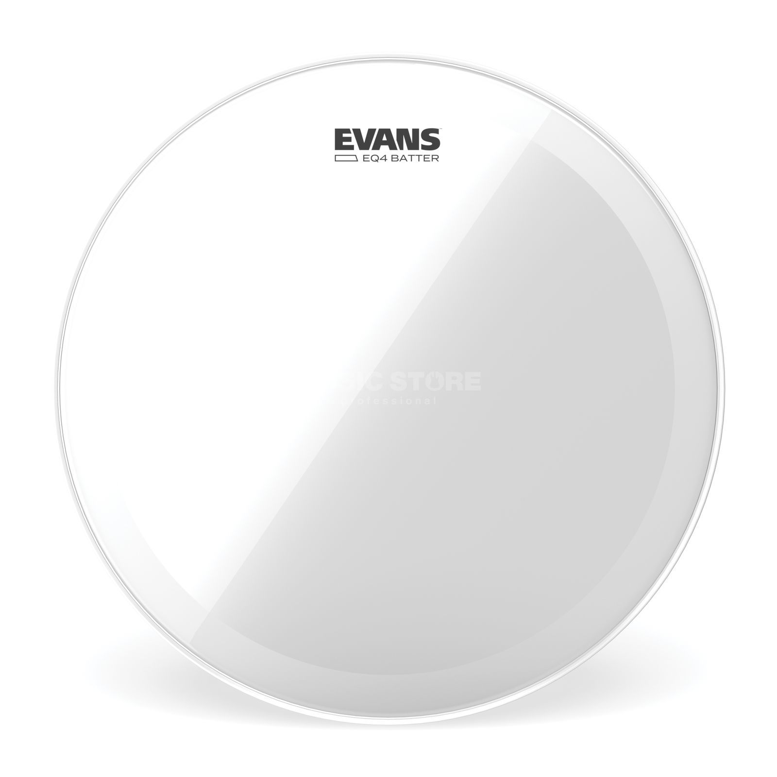 "Evans EQ4 Clear 16"", BD16GB4, BassDrum Batter, Bass Hoop Product Image"