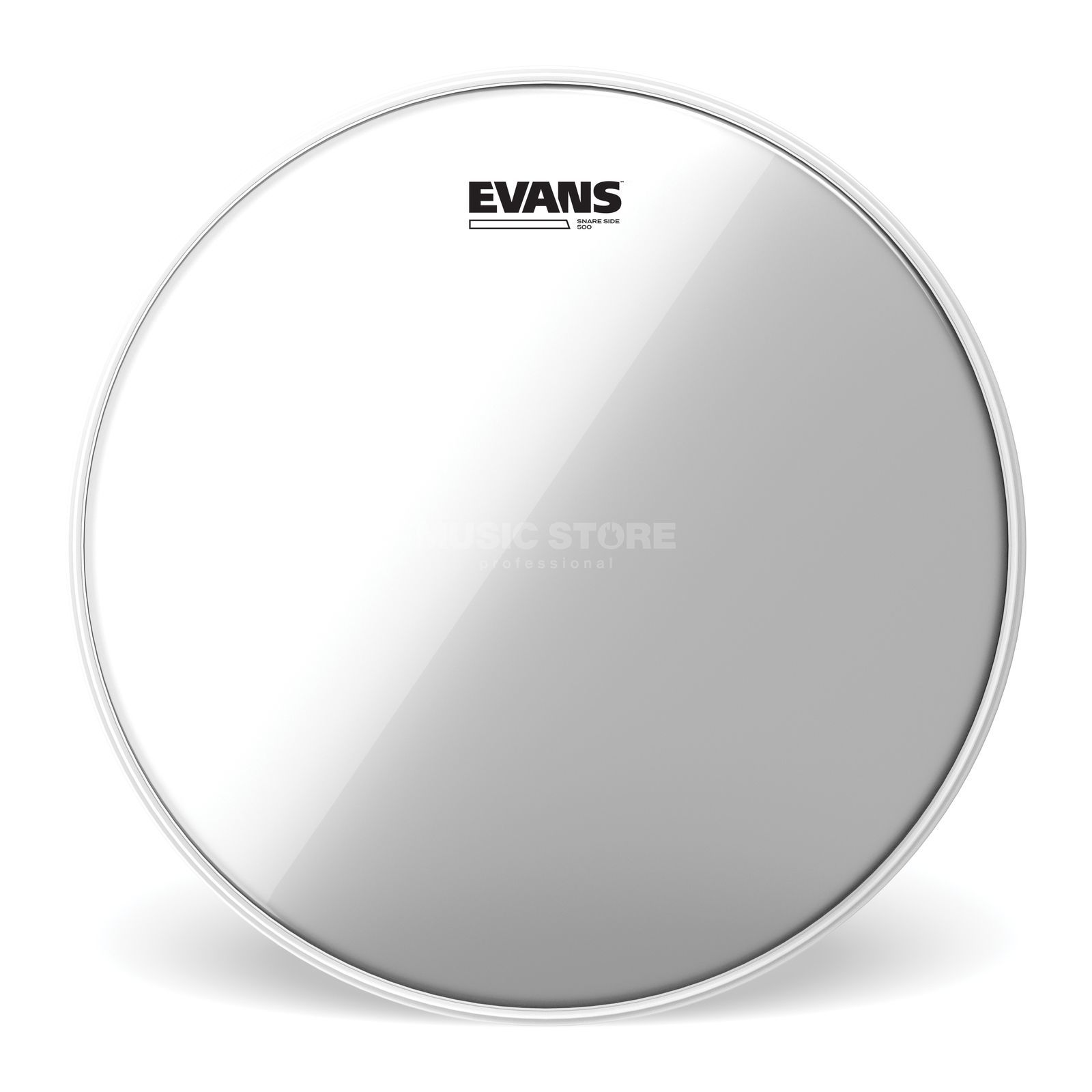 "Evans Glass 500, 13"", S13R50, Snare Reso Product Image"