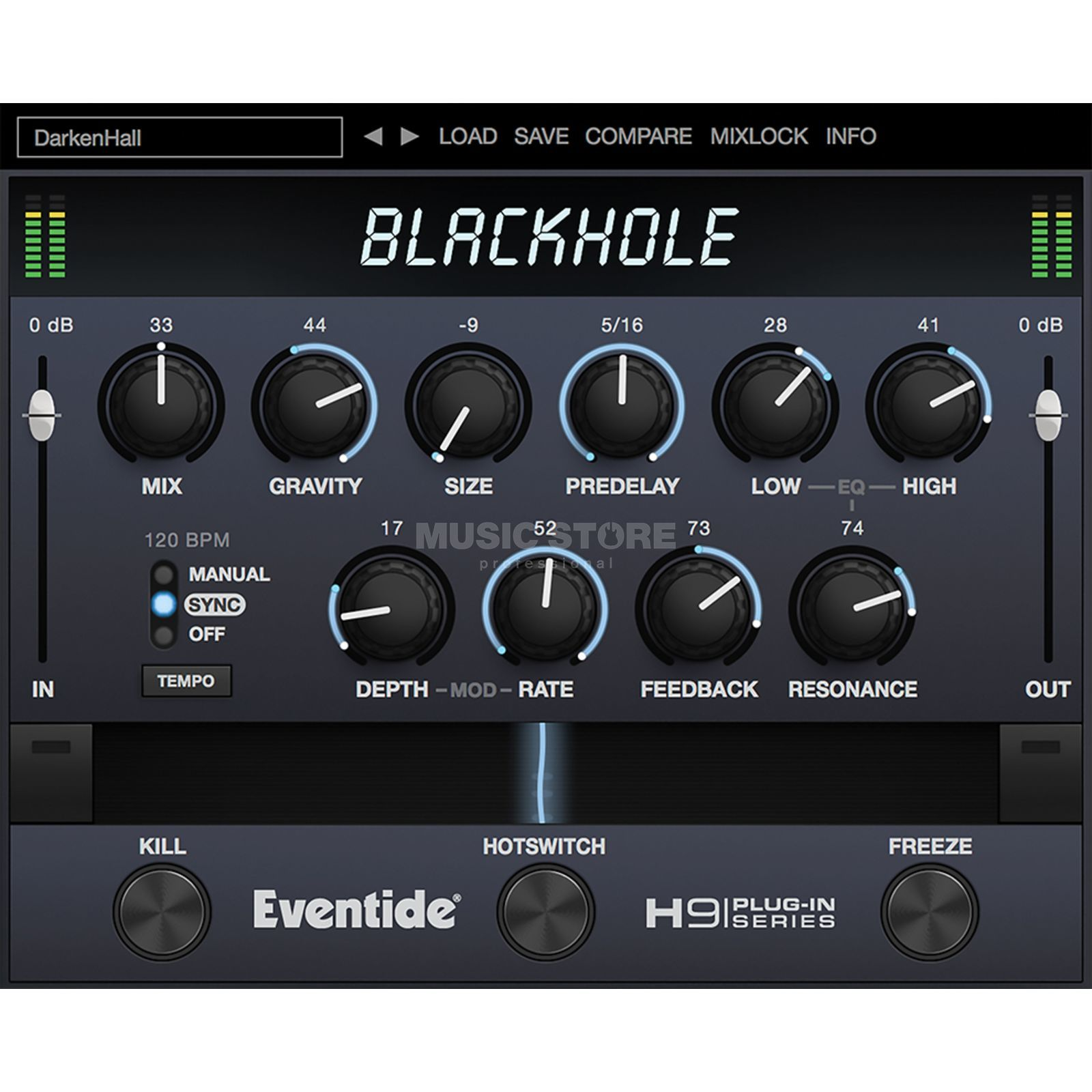 Eventide BlackHole Native    Product Image
