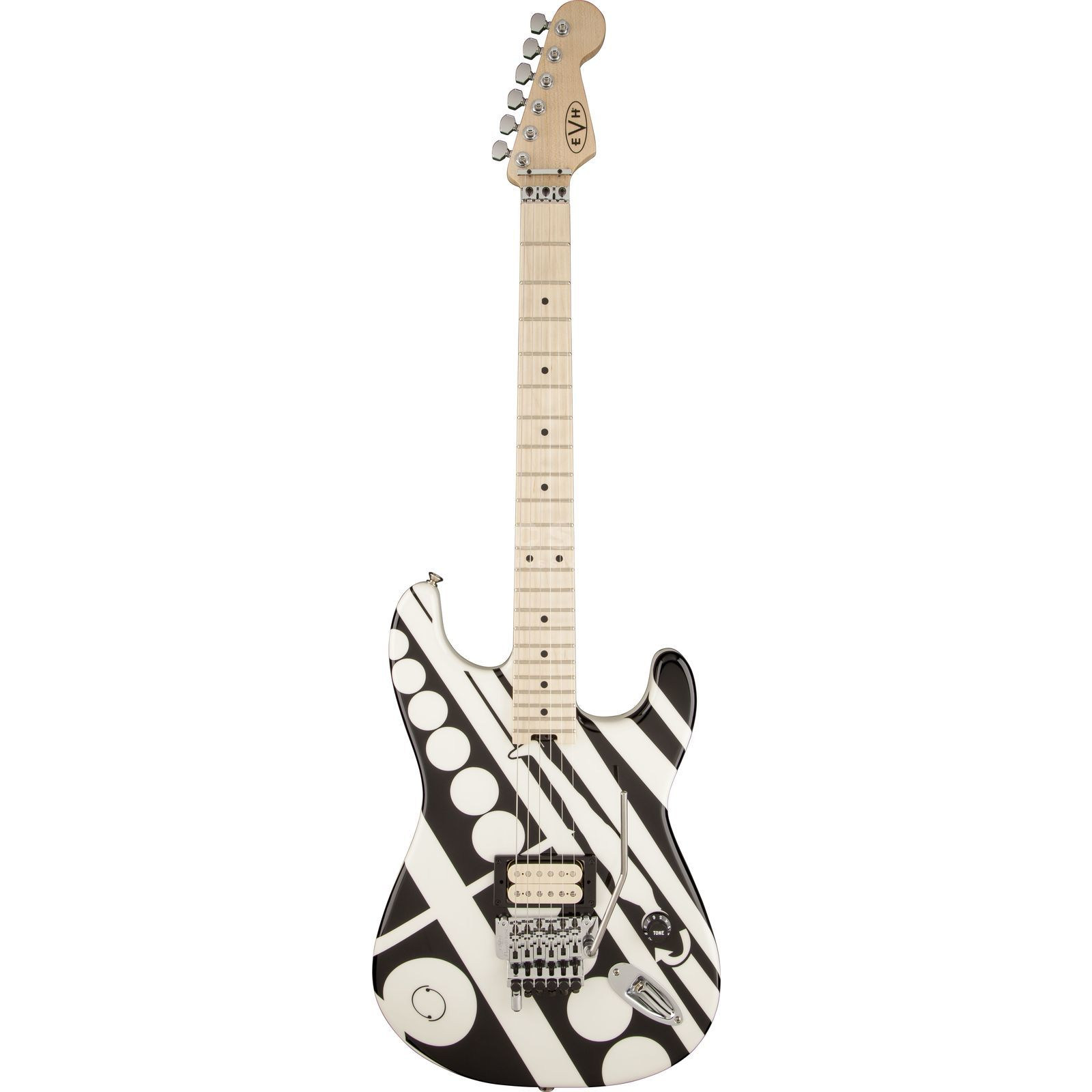 EVH Stripe Series Circles BW Black/White DEMO Produktbild