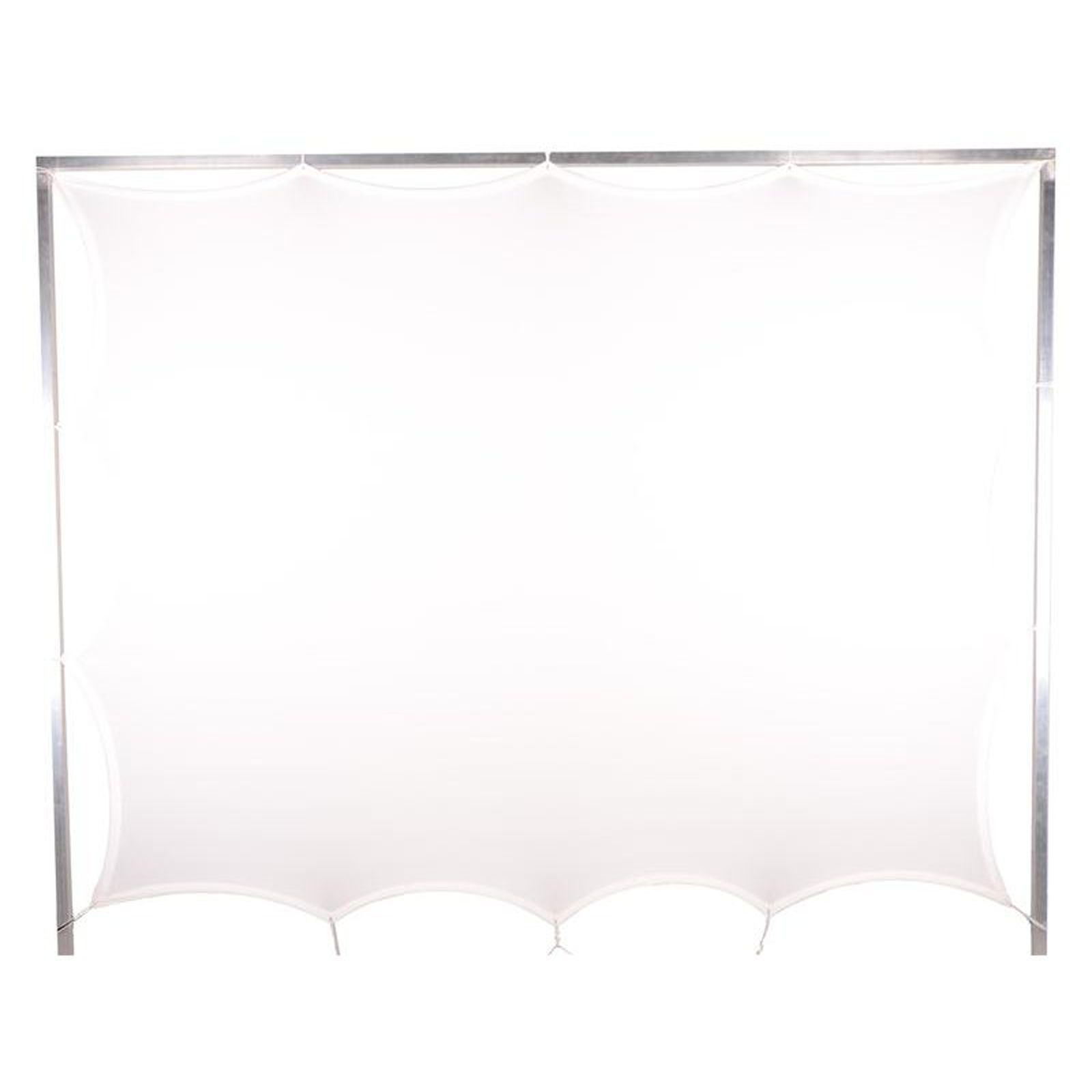 Expand Screen with Fixing Points 0.7m x 1.5m rotateable white Produktbillede