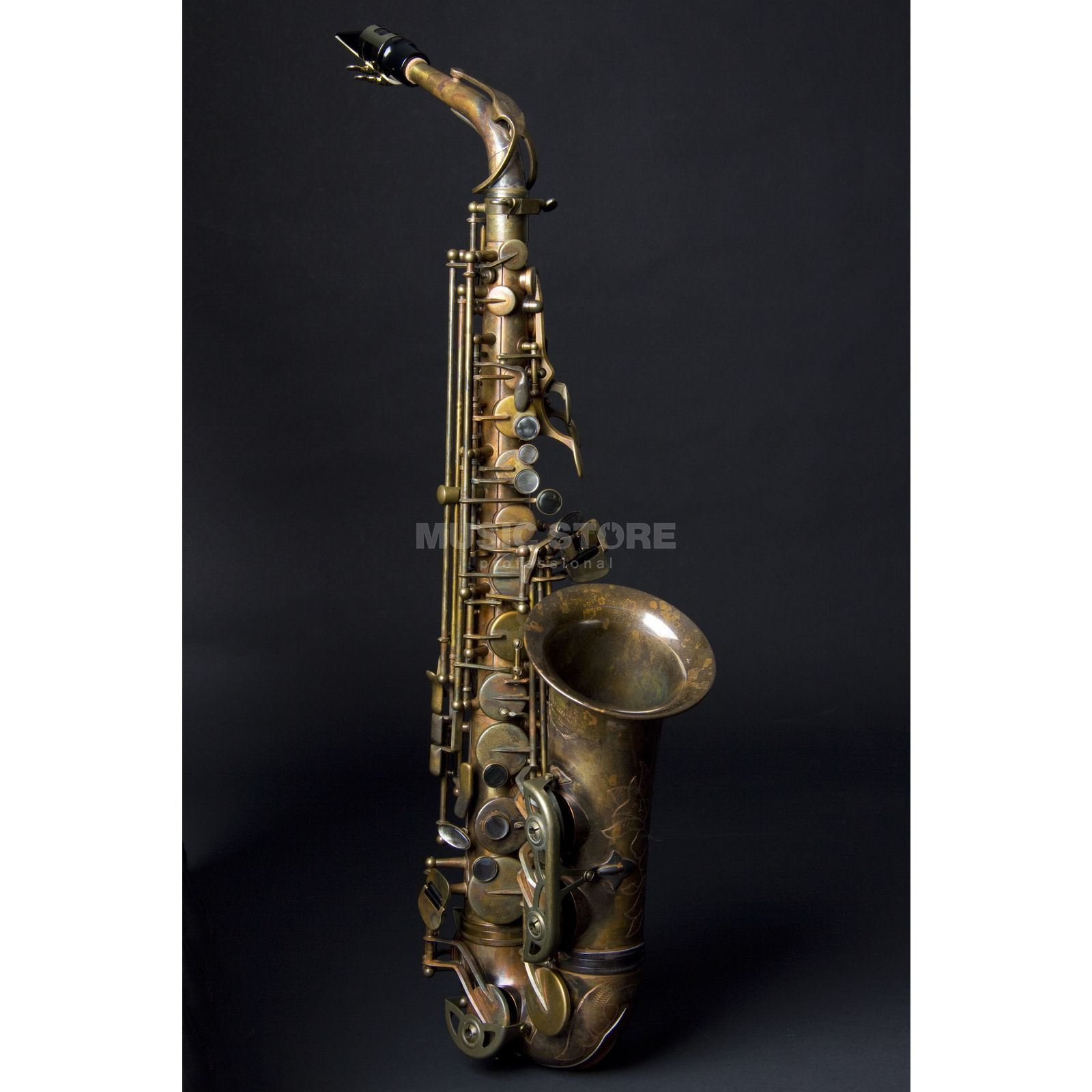 Expression X-Old Es Alto Saxophone - Bronze unlacquered Product Image