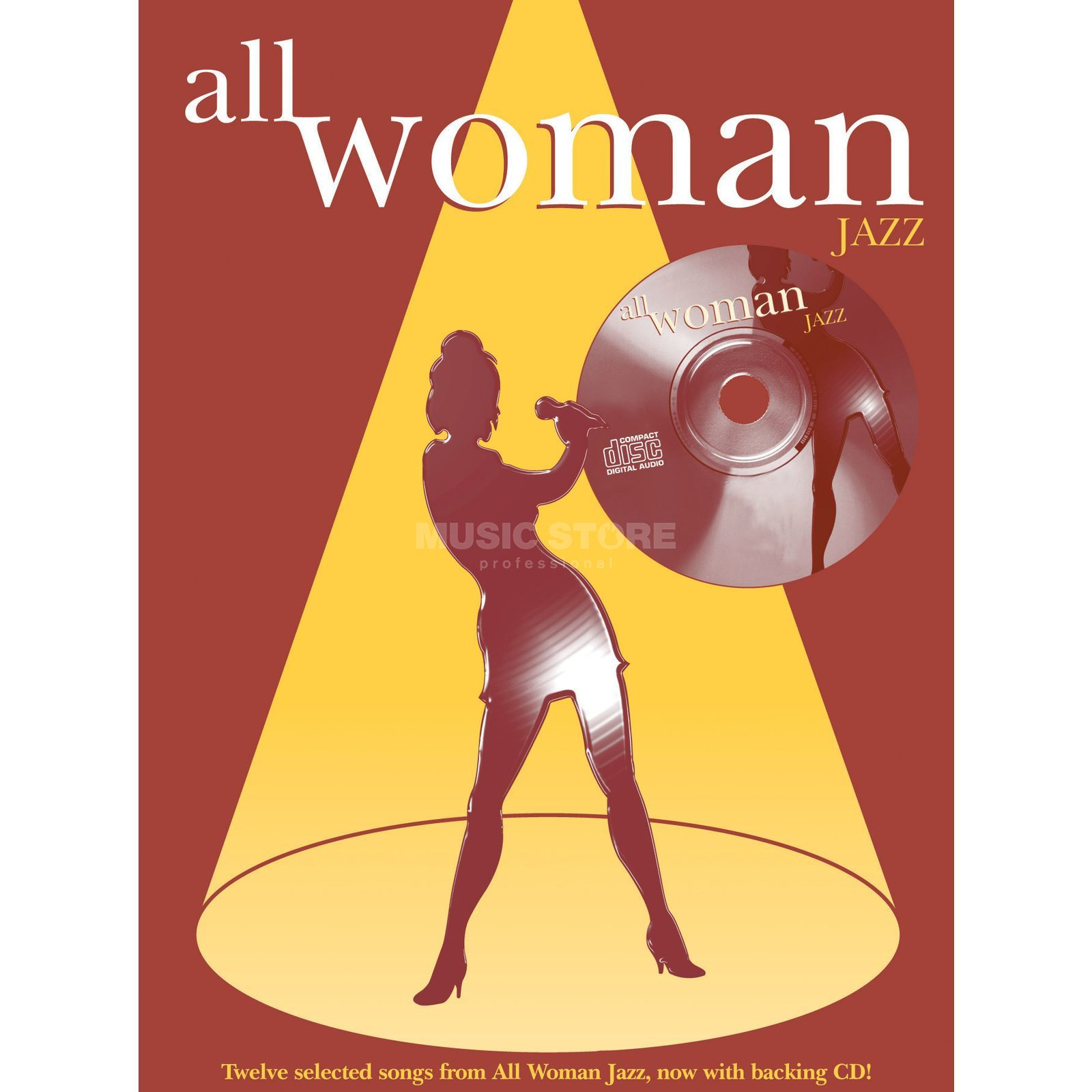Faber Music All Woman Jazz PVG, Sheet Music and CD Produktbillede