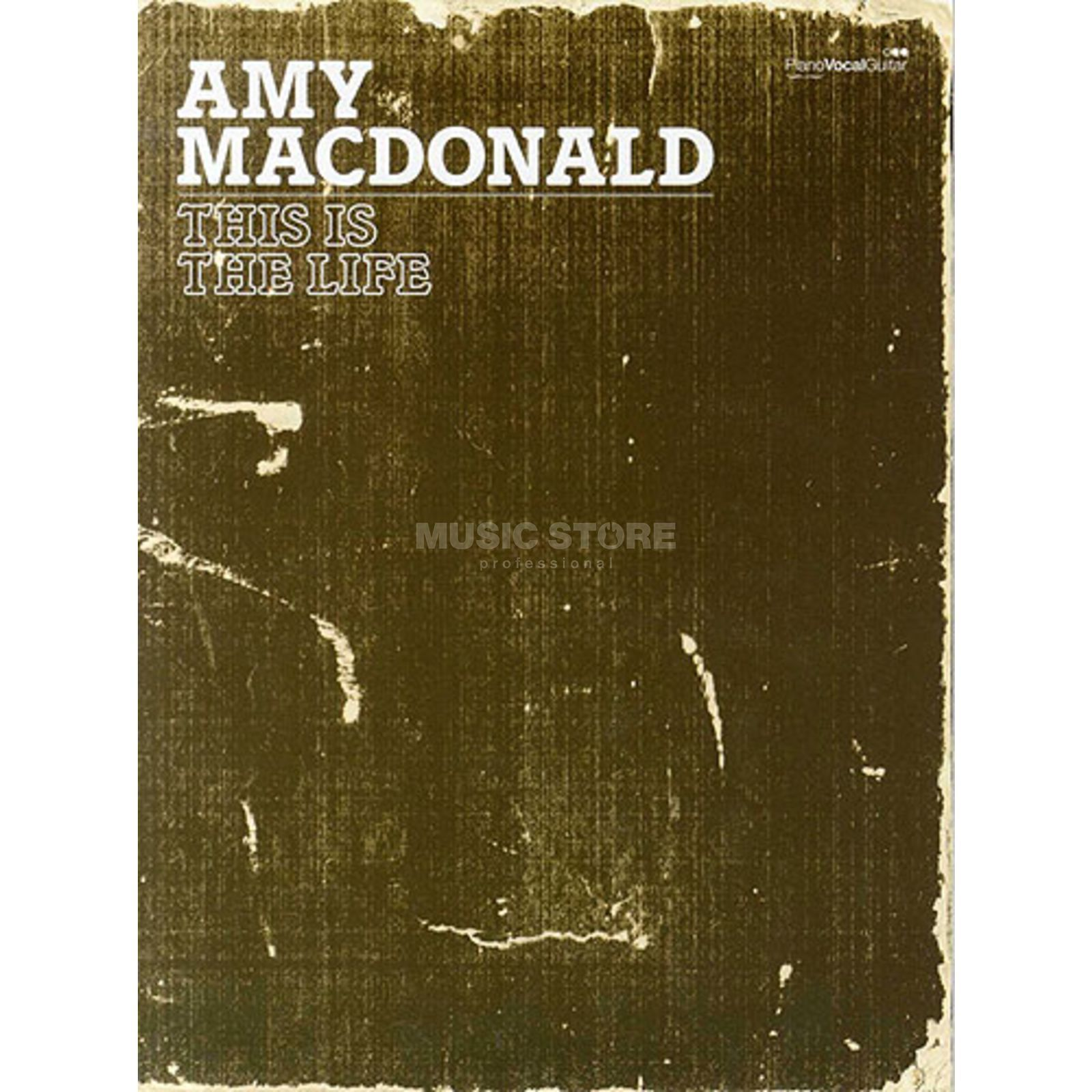 Faber Music Amy McDonald: This Is The Life PVG Produktbild