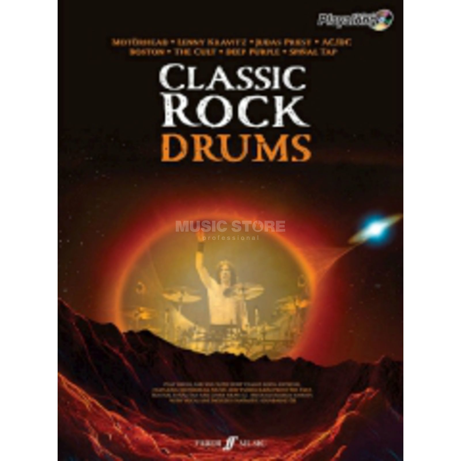 Faber Music Auth.Play Along - Classic Rock Drums, CD Produktbild