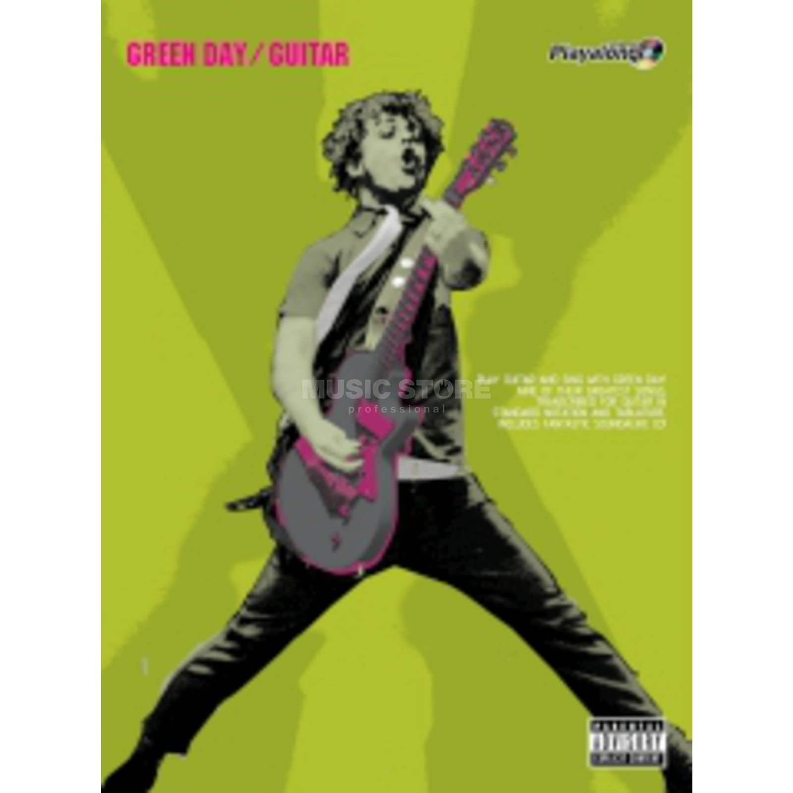 Faber Music Auth.Play Along - Green Day Guitar, TAB/CD Produktbild