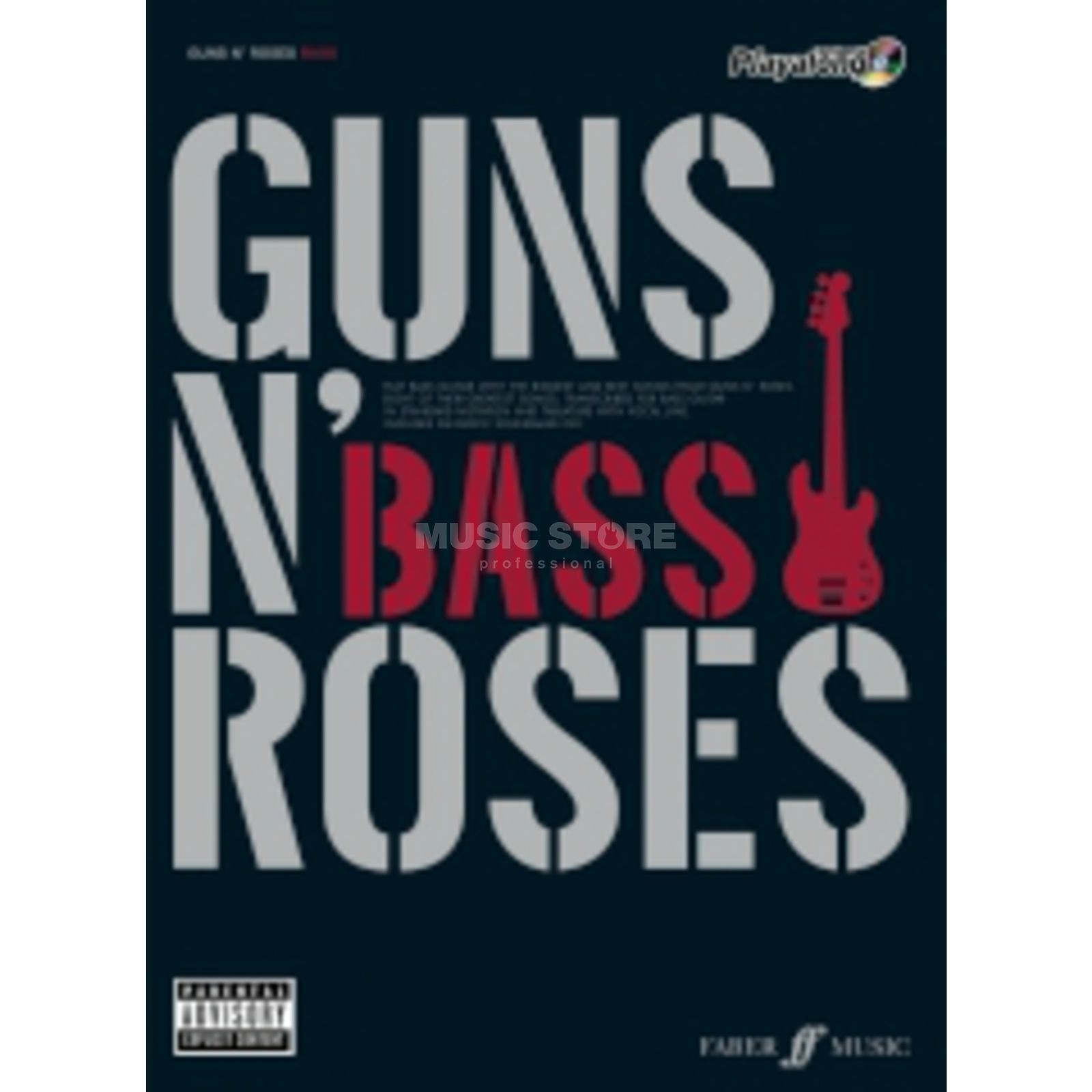 Faber Music Auth.Play Along - Guns N'Roses Bass, TAB/CD Produktbild