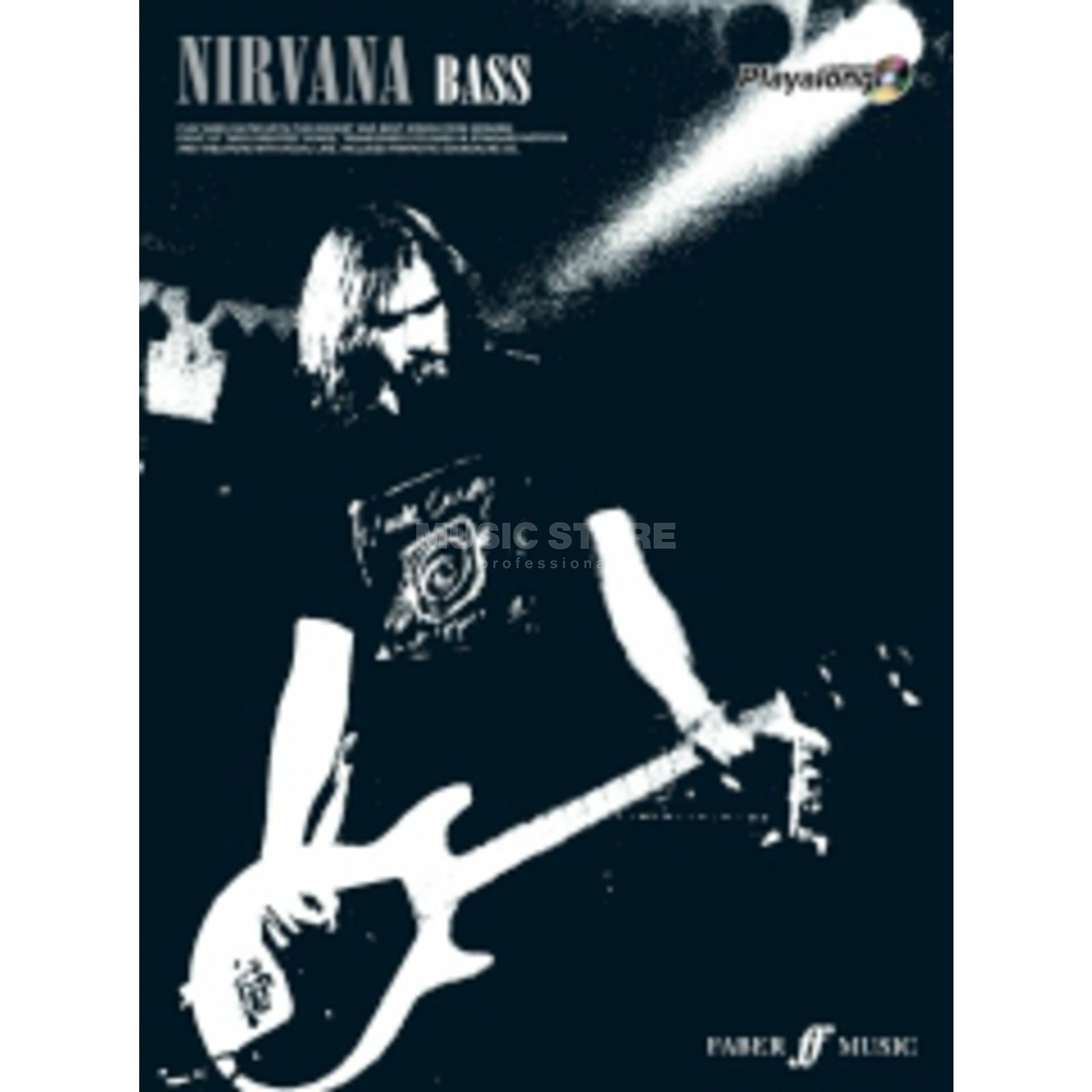 Faber Music Auth.Play Along - Nirvana Bass, TAB/CD Produktbillede