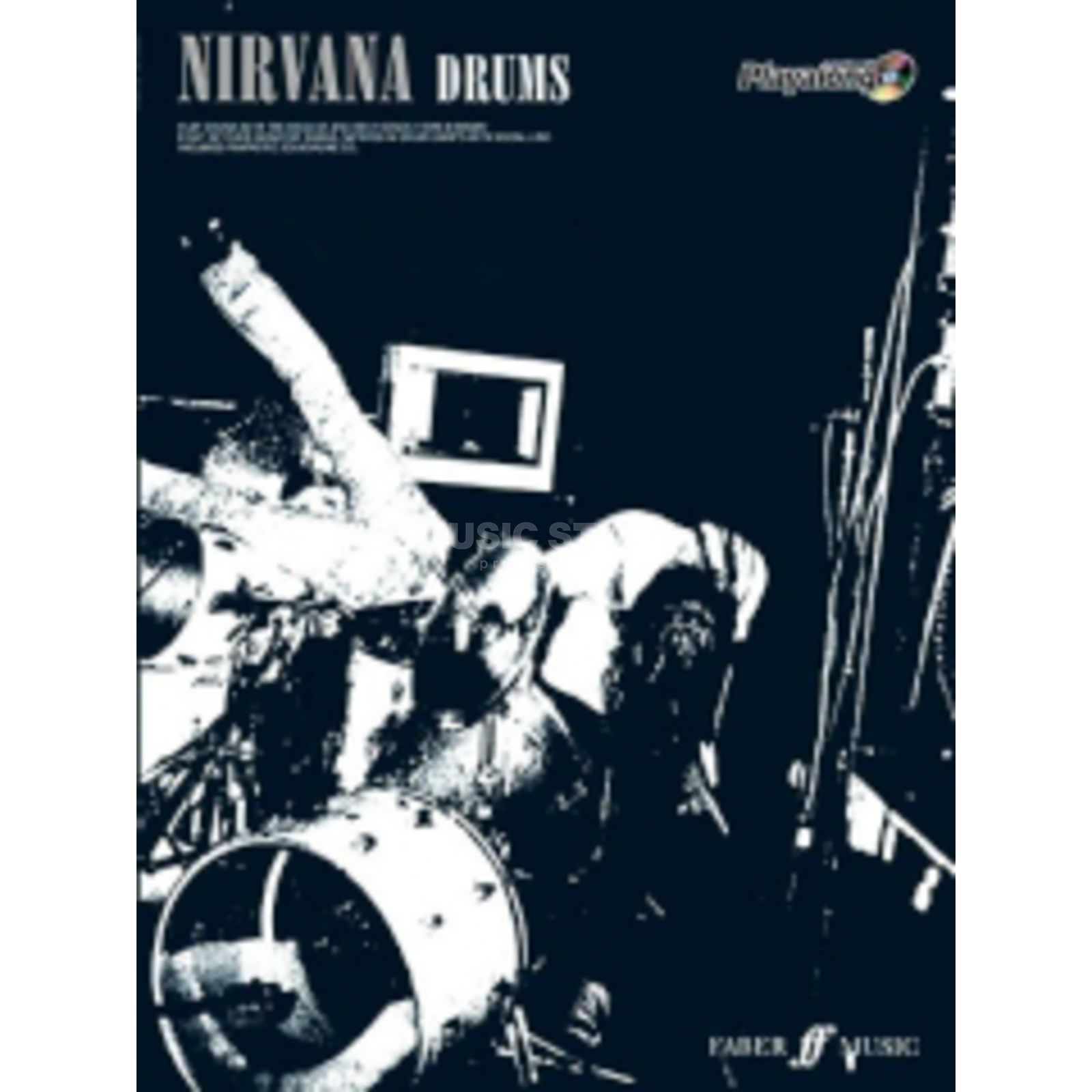 Faber Music Auth.Play Along - Nirvana Drums, CD Produktbillede