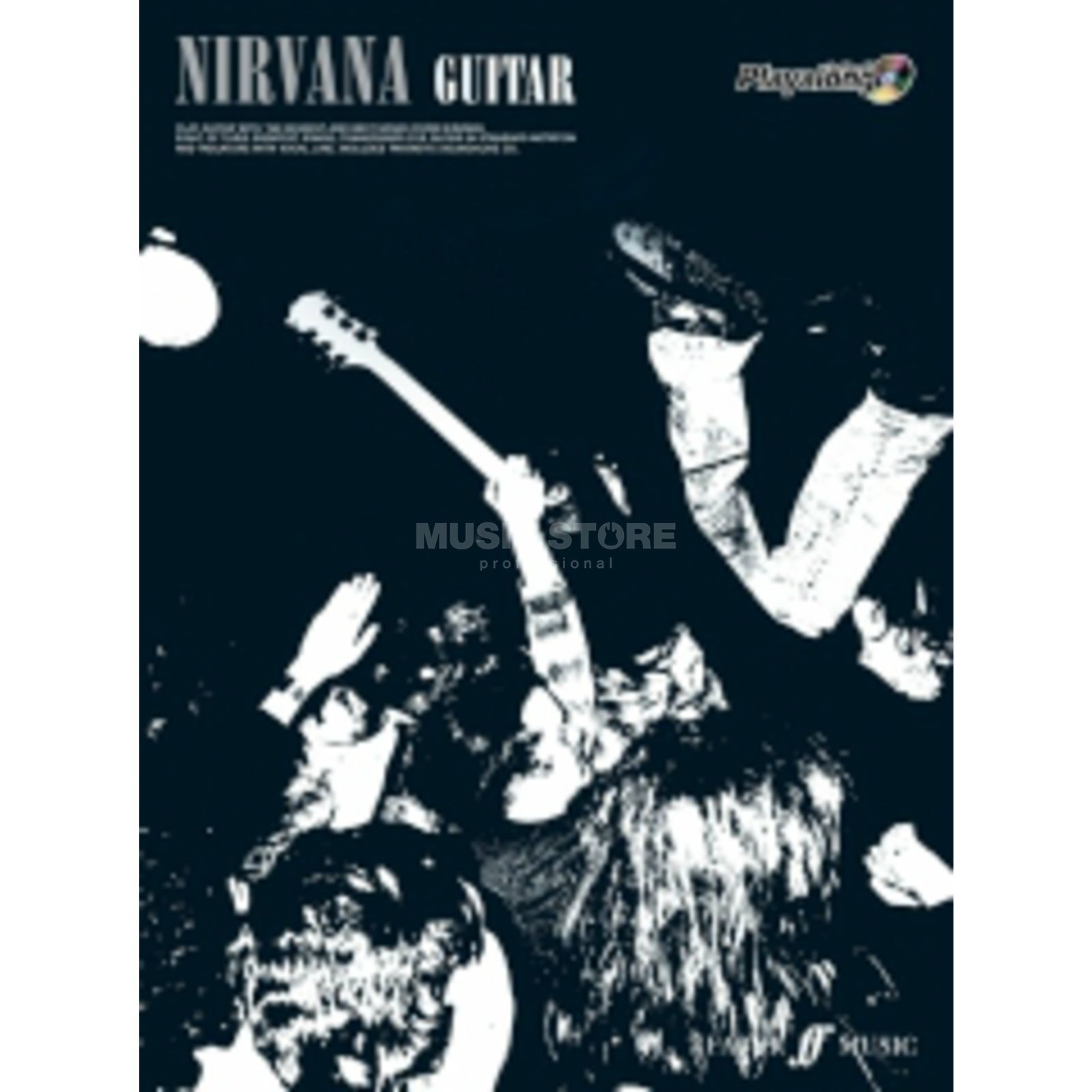 Faber Music Auth.Play Along - Nirvana Guitar, TAB/CD Produktbild