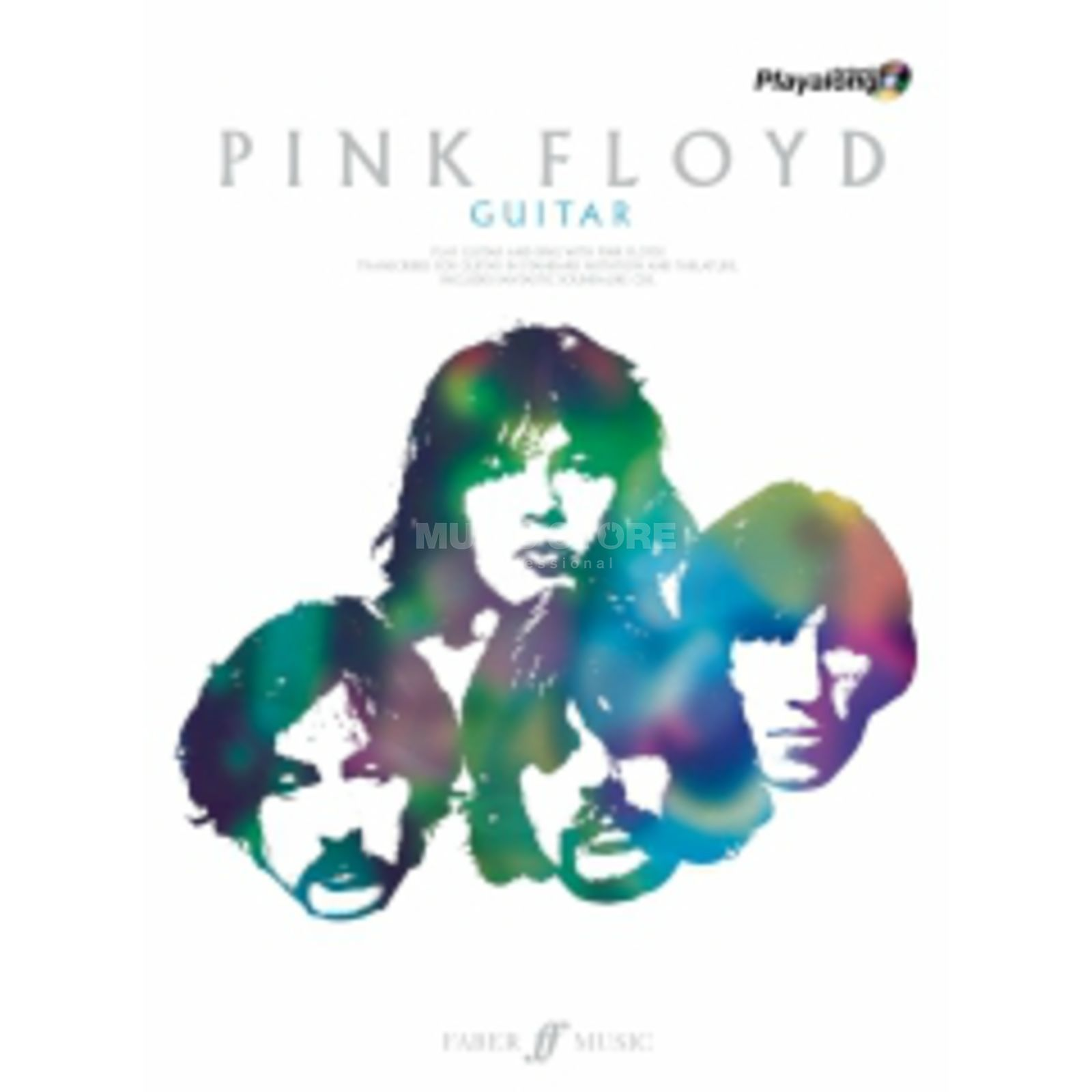 Faber Music Auth.Play Along - Pink Floyd Guitar, TAB/CD Produktbild