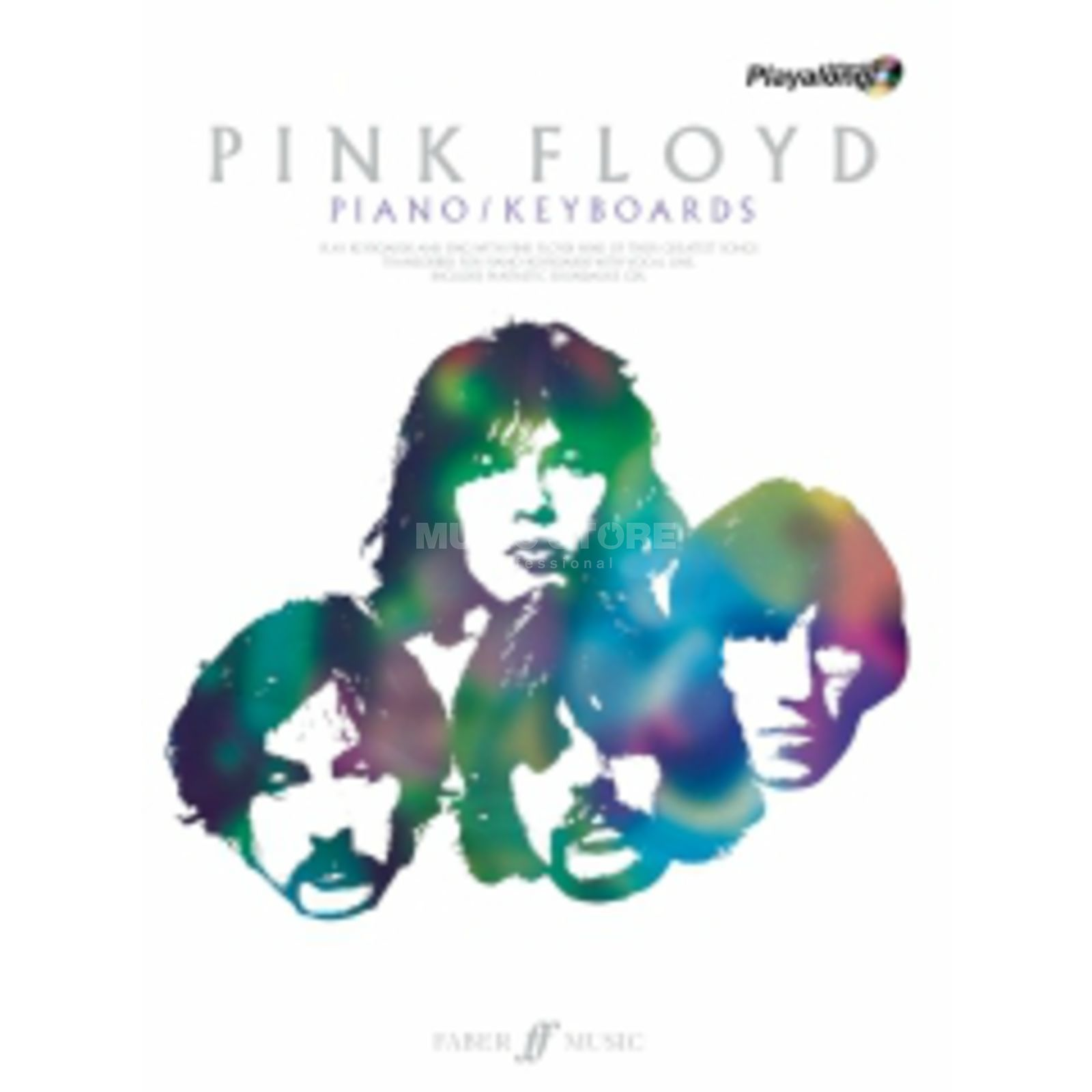 Faber Music Auth.Play Along - Pink Floyd Keyboard, CD Produktbild
