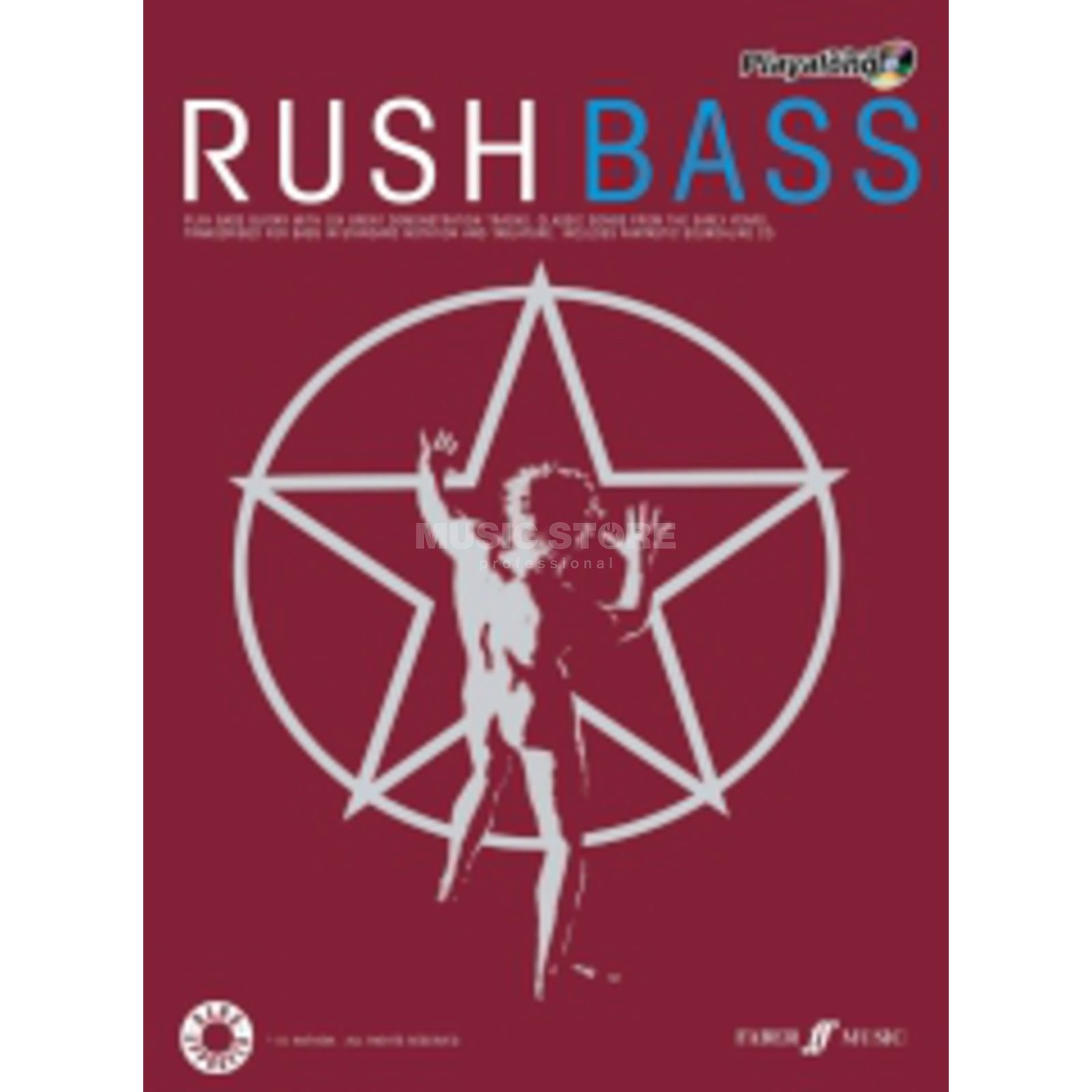 Faber Music Auth.Play Along - Rush Bass, TAB/CD Product Image