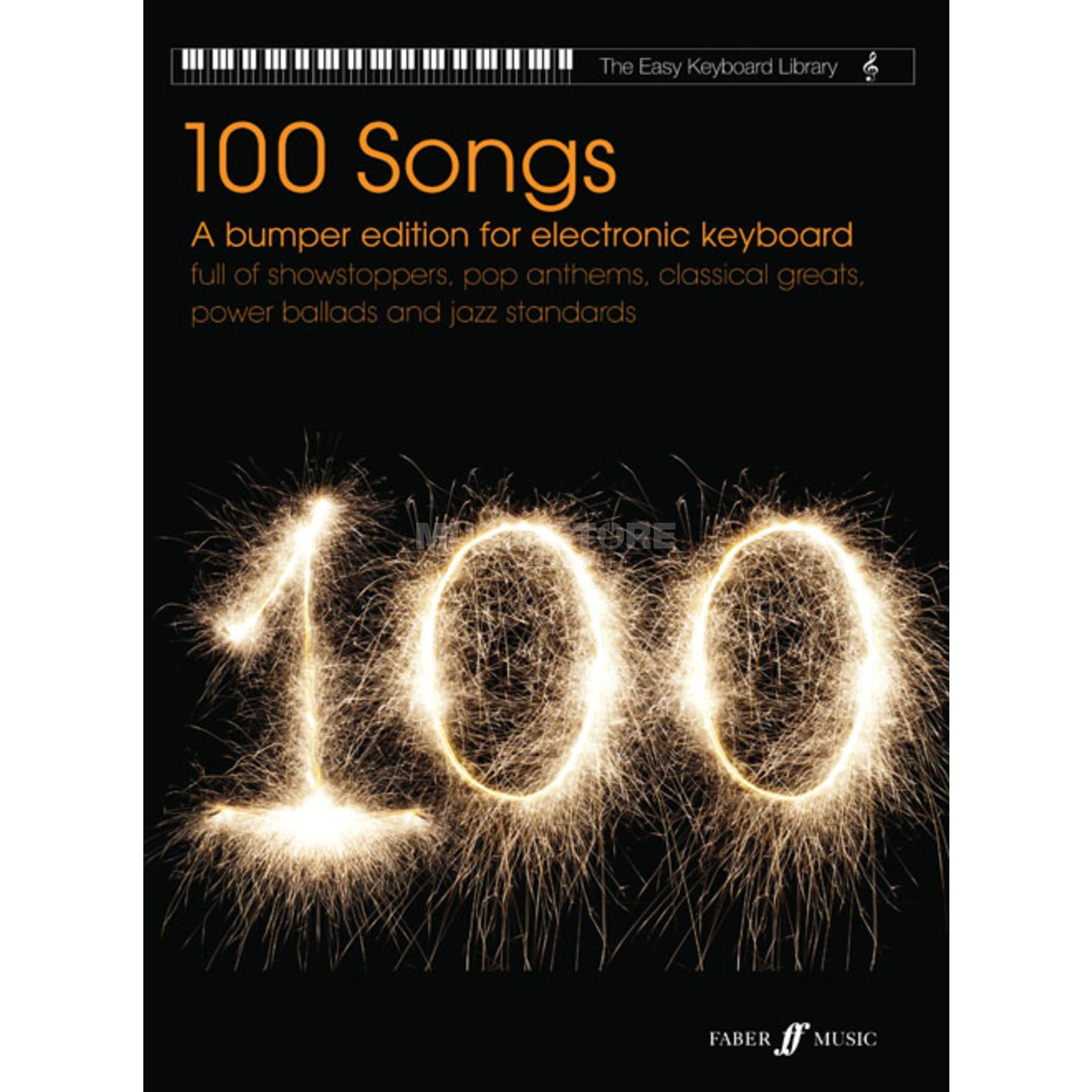 Faber Music Easy Keyboard Library - 100 Songs Produktbillede