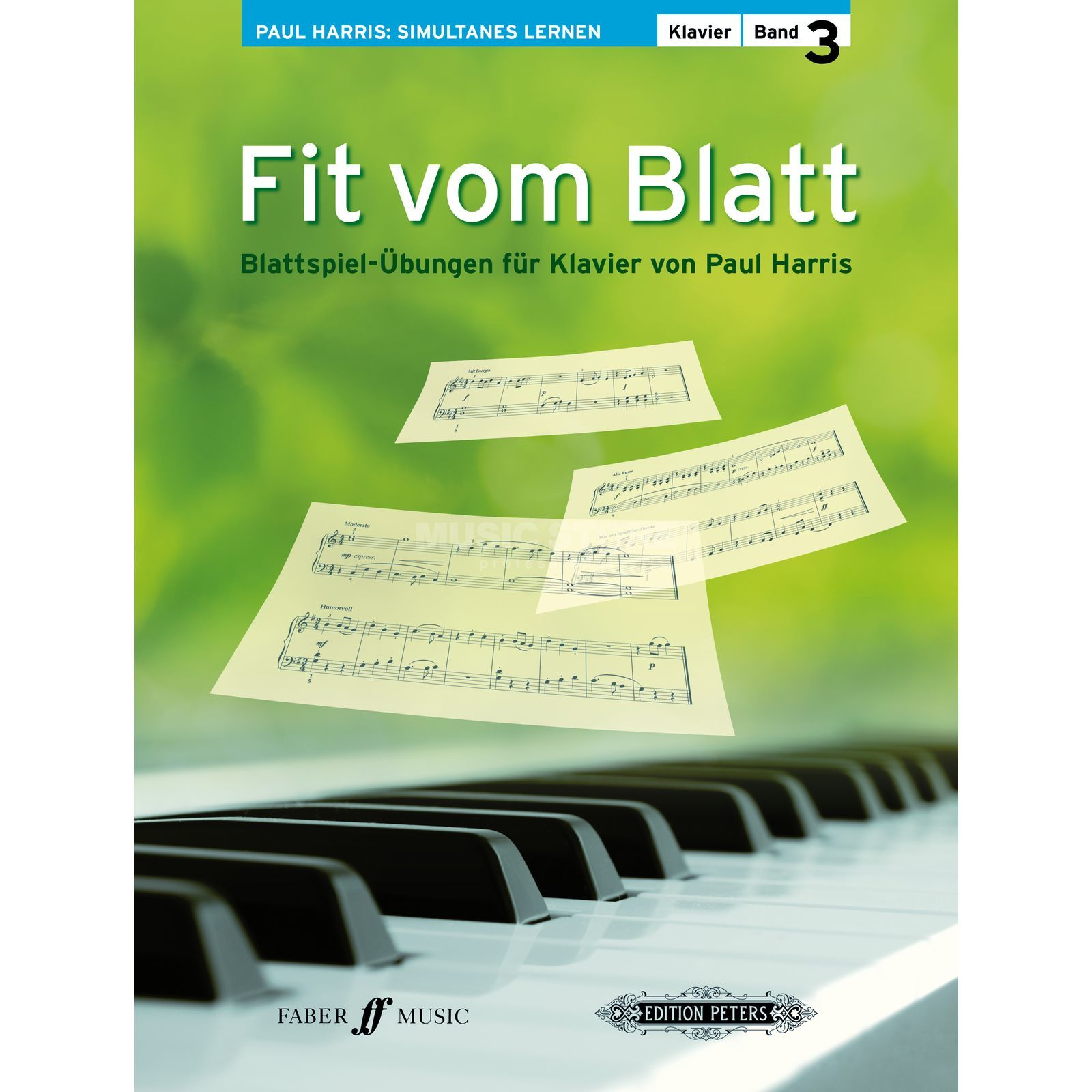 Faber Music Fit vom Blatt 3 Paul Harris Produktbillede