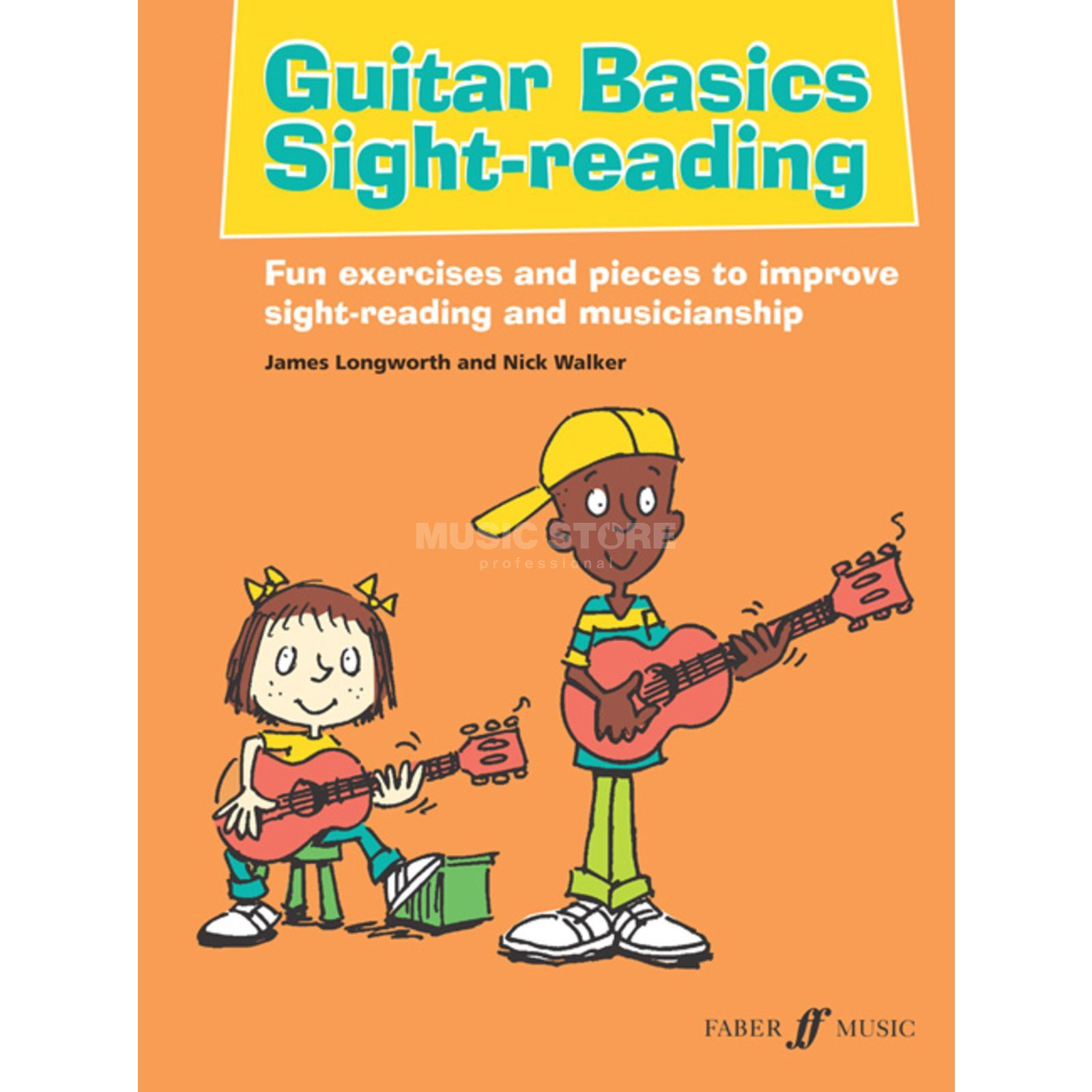 Faber Music Guitar Basics Sight-Reading Walker, Longworth Image du produit