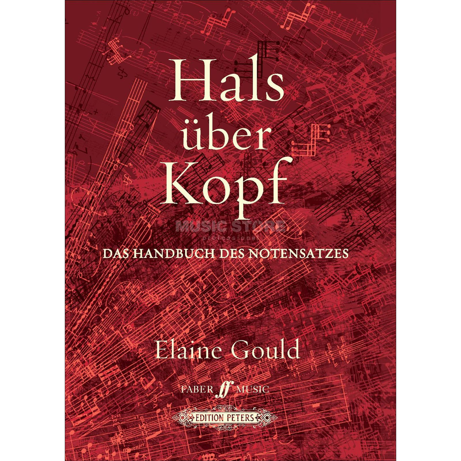 Faber Music Hals über hoofd Elaine Gould Productafbeelding