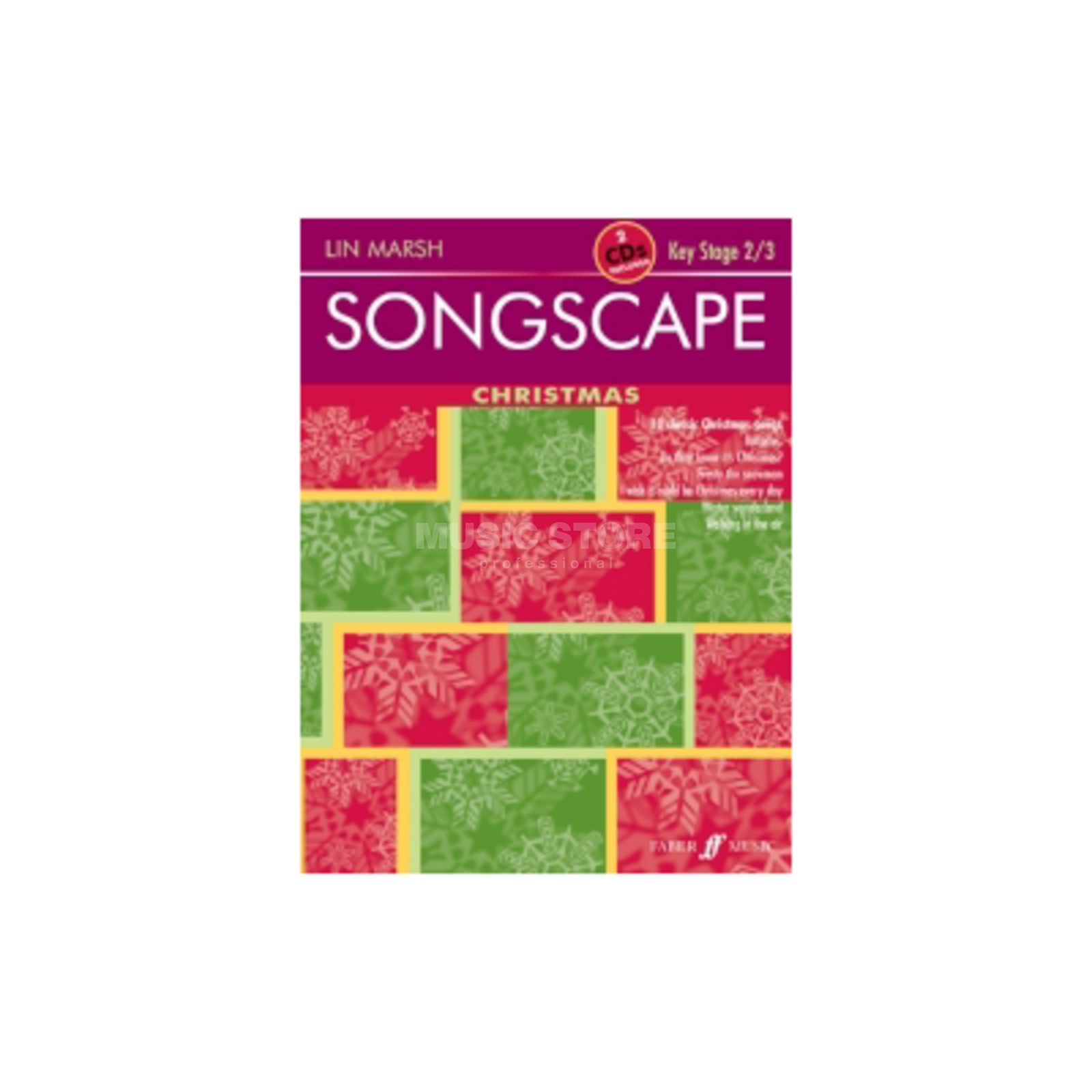 Faber Music Junior Songscape: Christmas Piano-Vocal, CD Produktbild