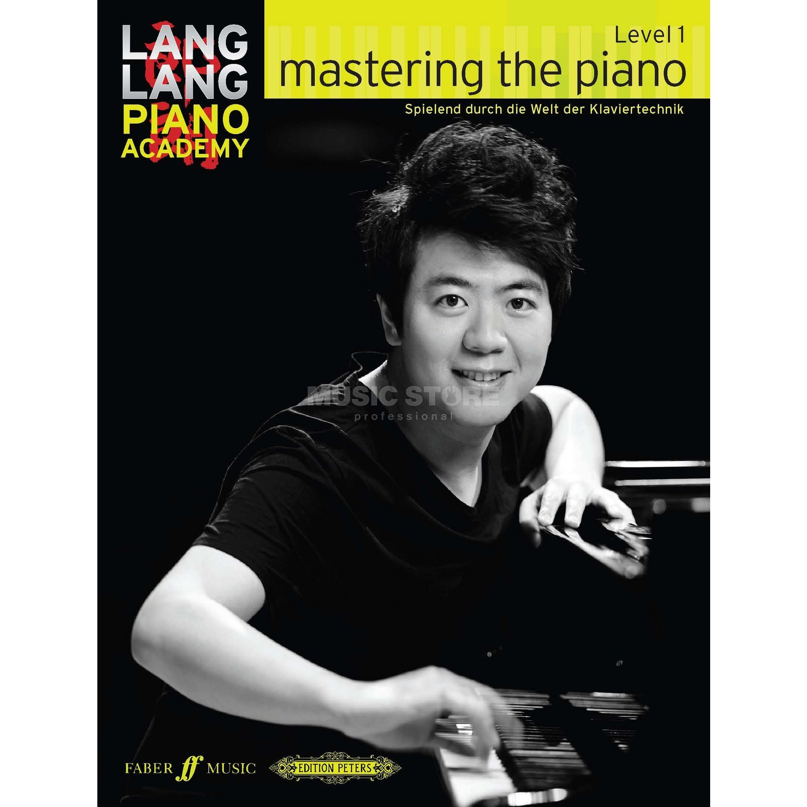 Faber Music Lang Lang: Mastering The Piano Level 1, Deutsch Produktbillede