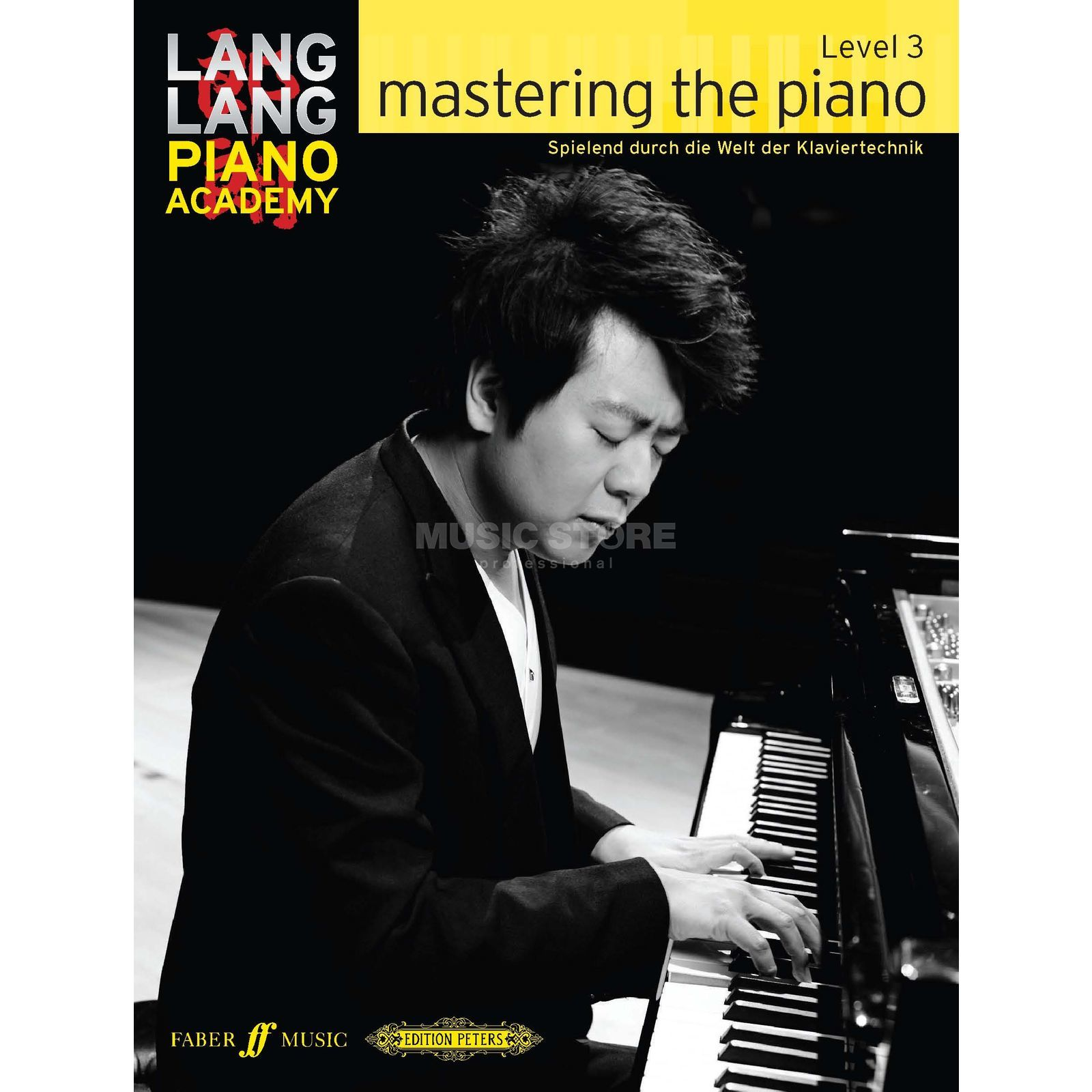 Faber Music Lang Lang: Mastering The Piano Level 3, Deutsch Produktbillede