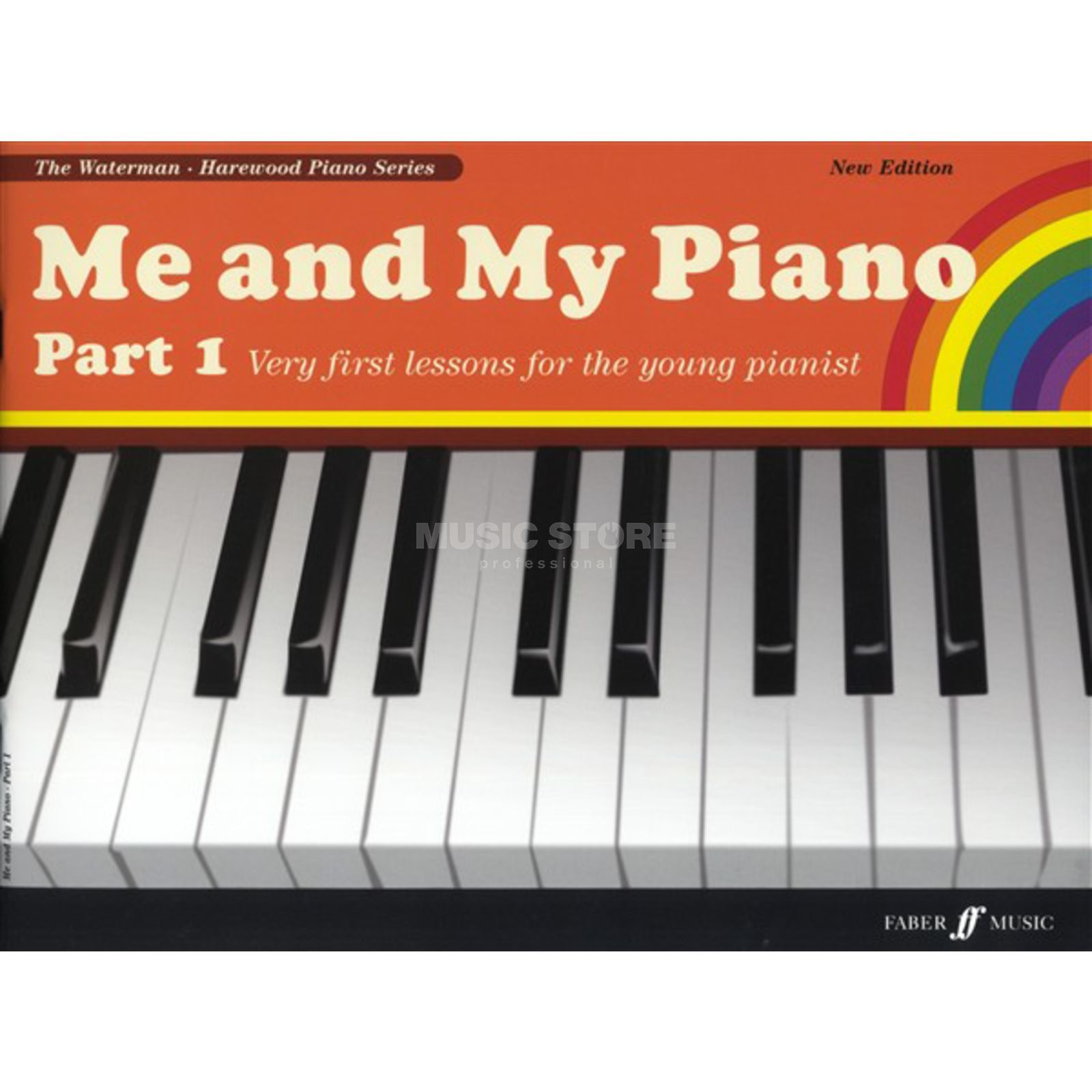 Faber Music Me And My Piano Part 1 Harewood, Waterman Produktbild