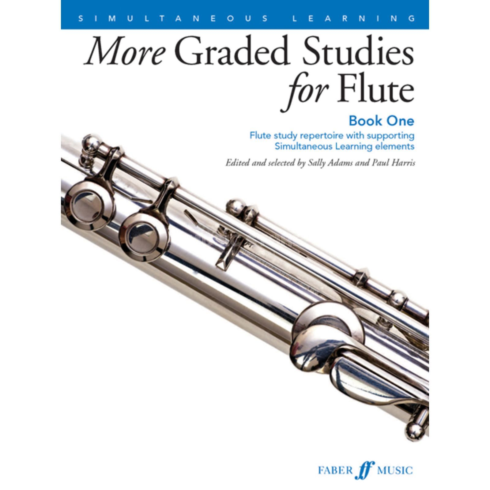 Faber Music More Graded Studies: Flute Book 1, Paul Harris, S. Adams Produktbild