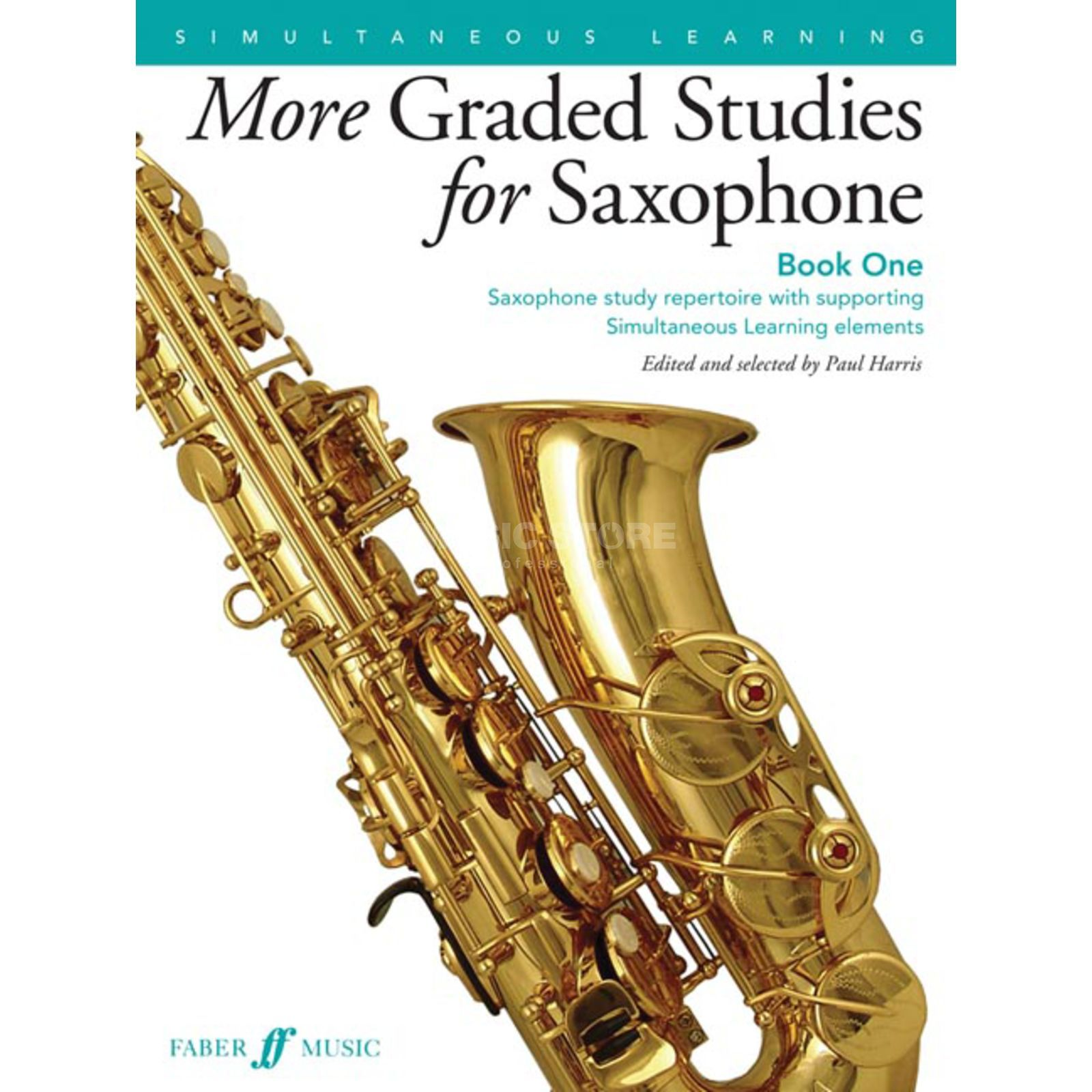 Faber Music More Graded Studies for Saxophone Book 1 Produktbillede