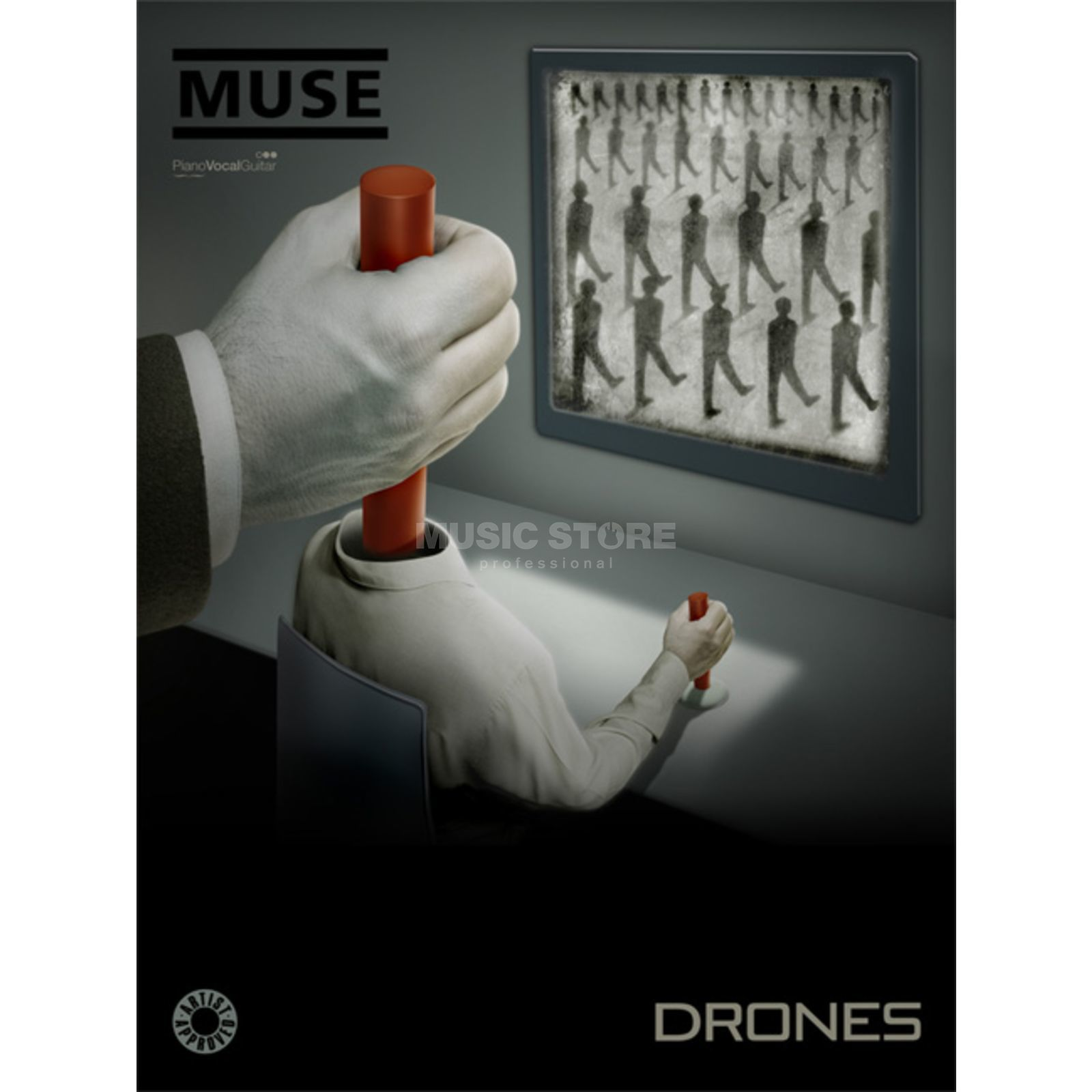 Faber Music Muse: Drones PVG Produktbild