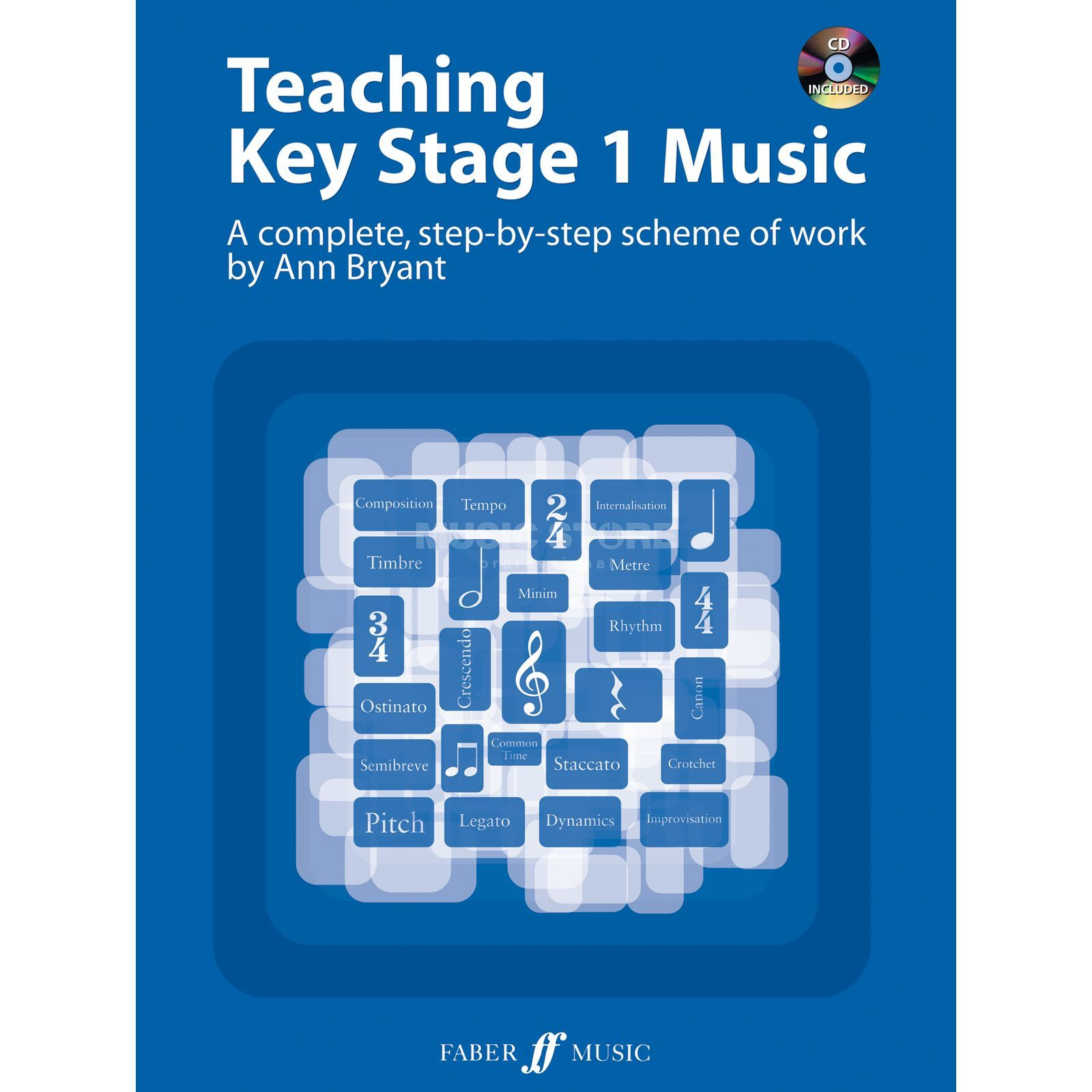 Faber Music Teaching Key Stage 1 Music CD, Ann Bryant Produktbild