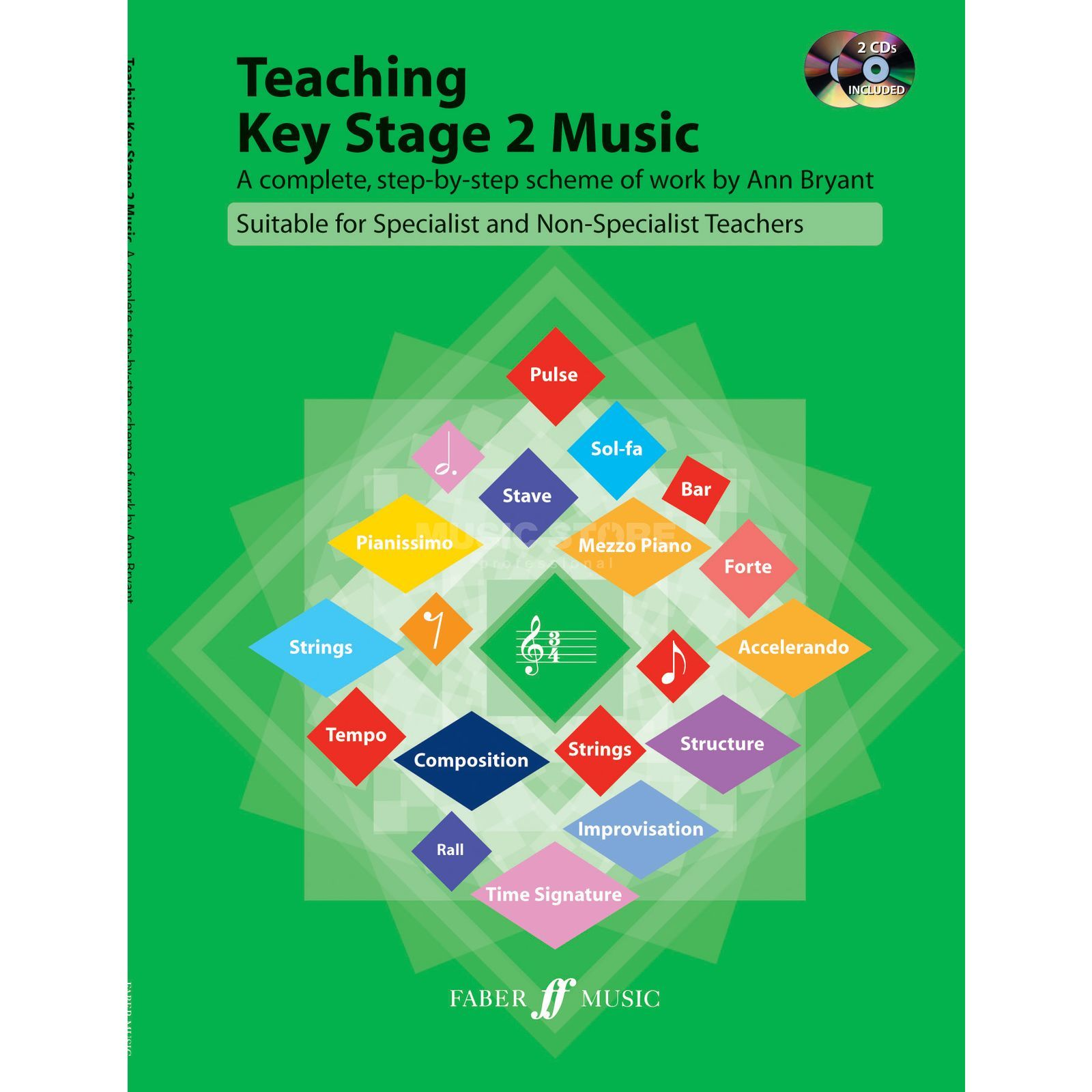 Faber Music Teaching Key Stage 2  Music CD, Ann Bryant Produktbild