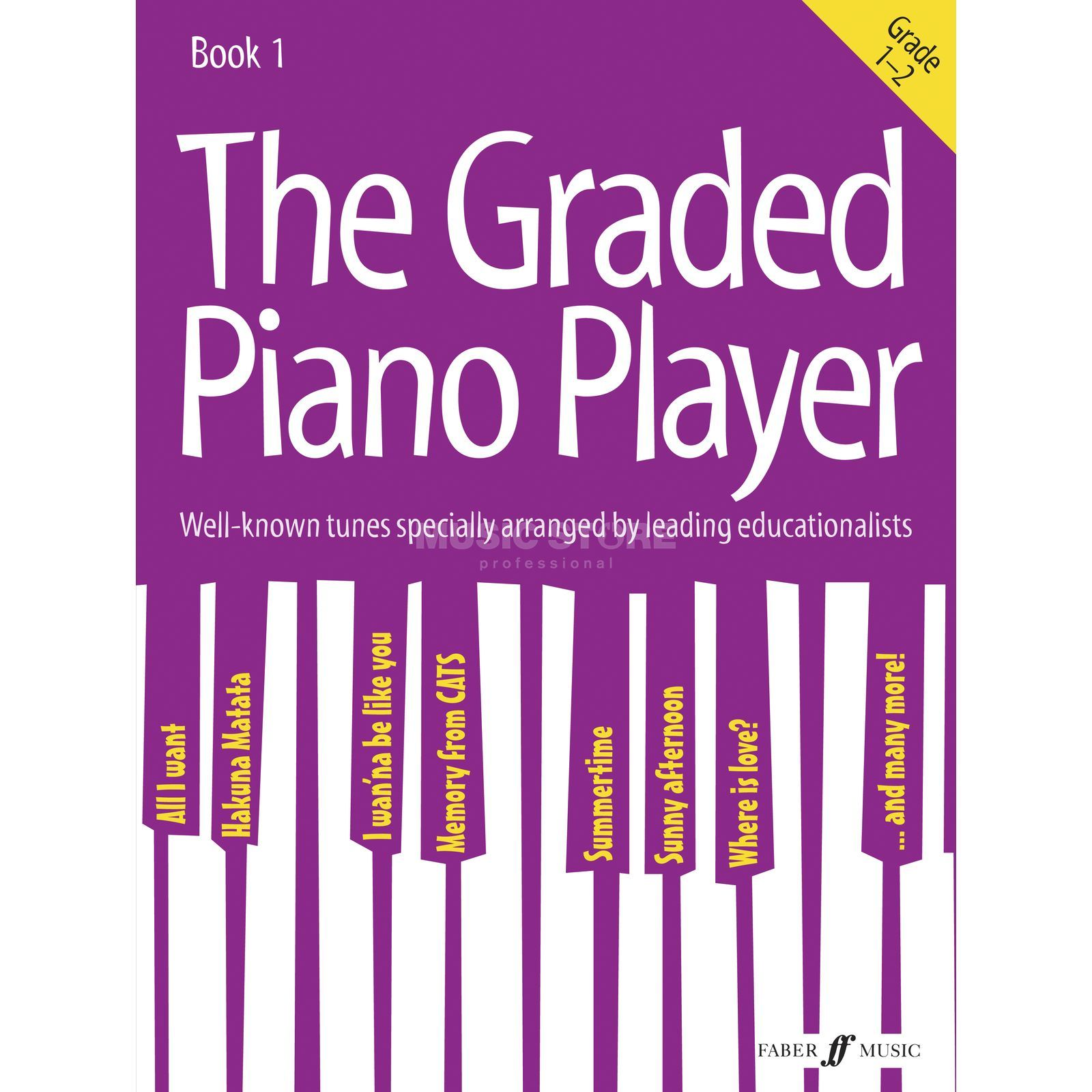 Faber Music The Graded Piano Player: Grades 1-2 Product Image