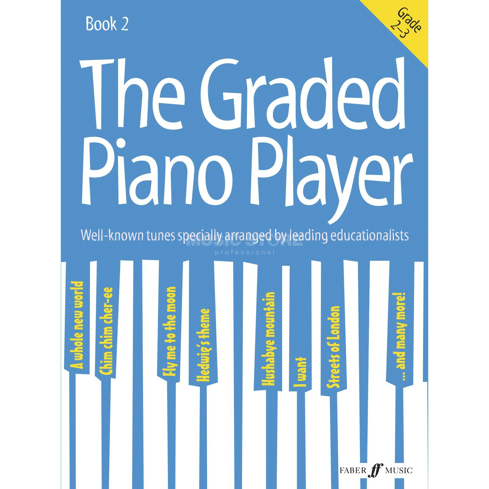 Faber Music The Graded Piano Player: Grades 2-3 Produktbild