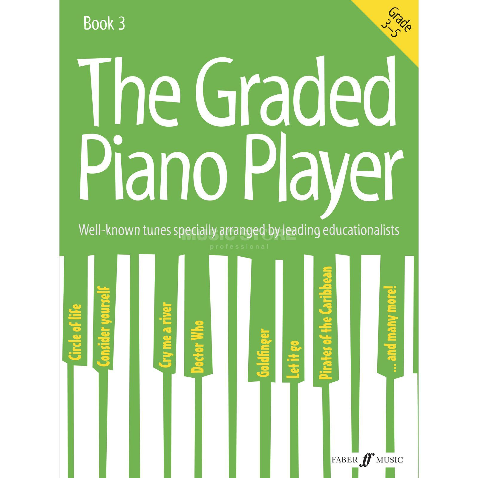 Faber Music The Graded Piano Player: Grades 3-5 Produktbild