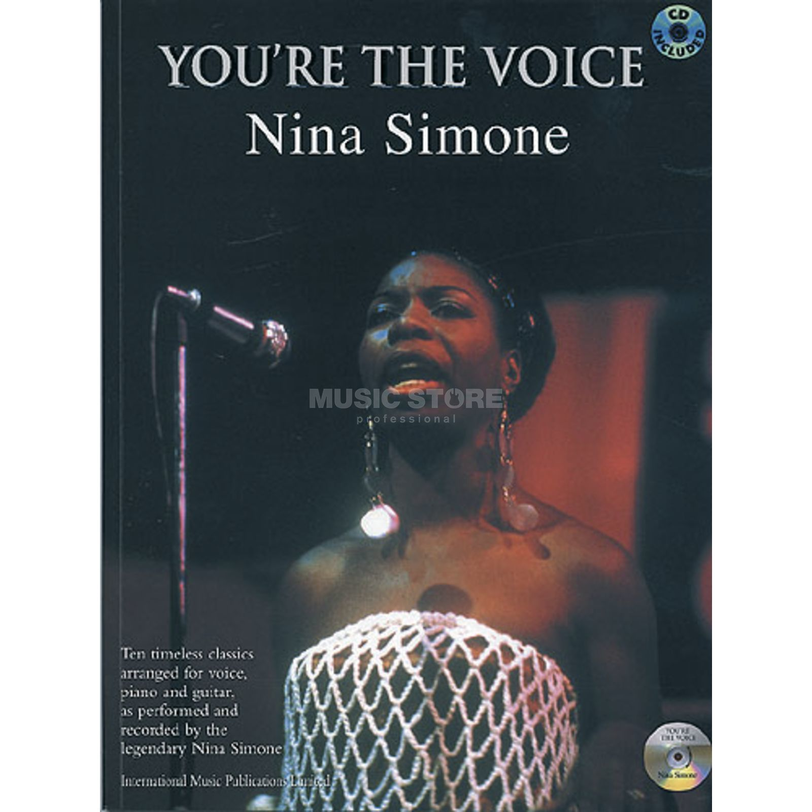 Faber Music You´re the voice - Simone, N. PVG, Sheet Music and CD Produktbillede