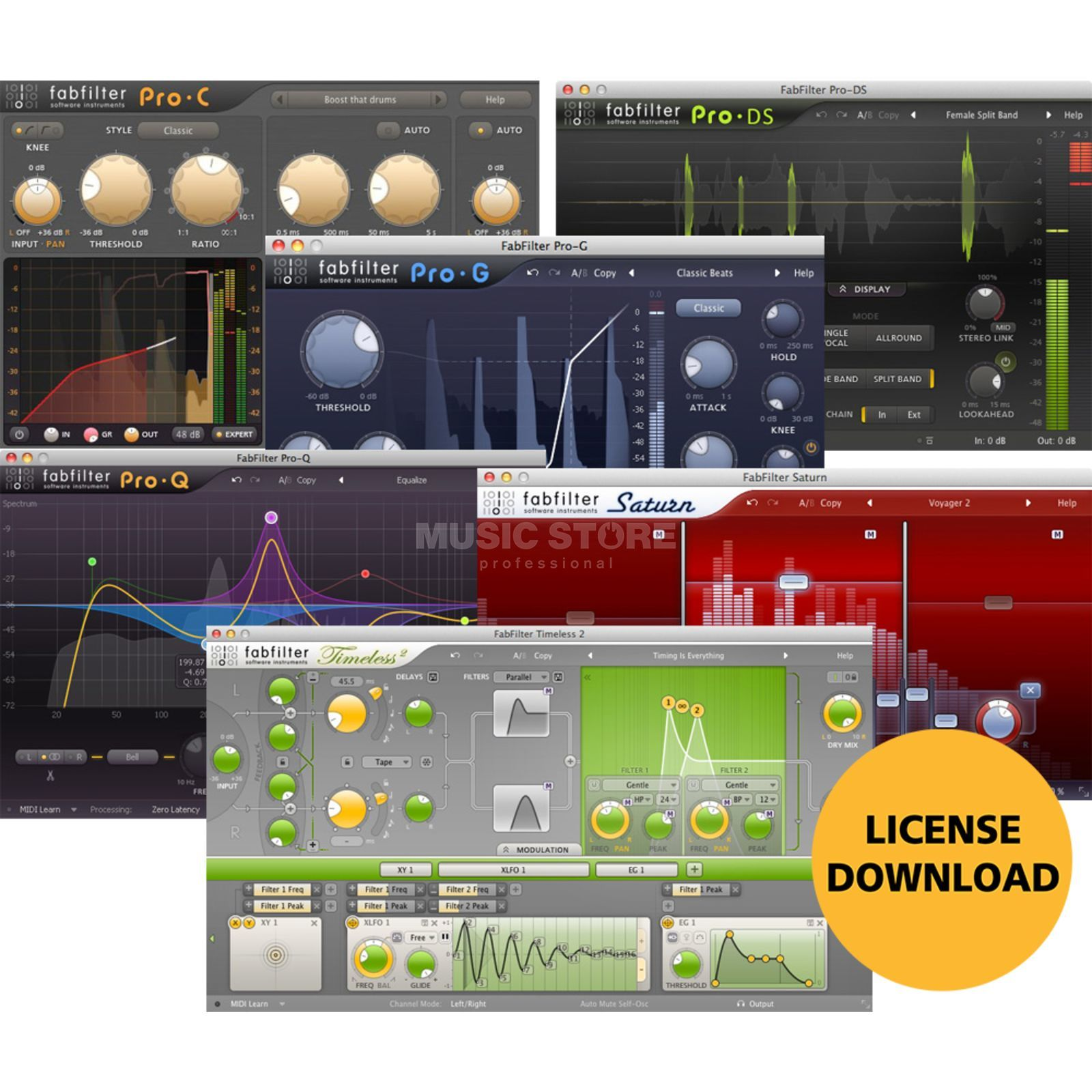 Fabfilter Mixing Bundle License Code Image du produit