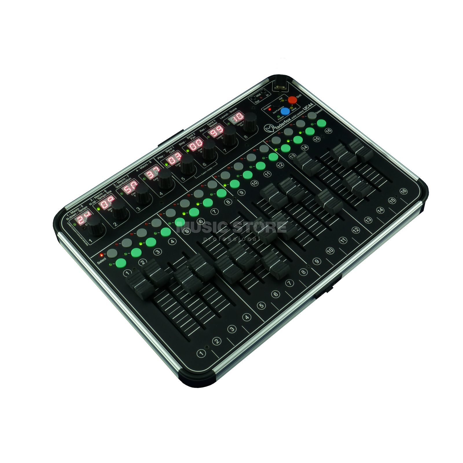Faderfox UC44 - The Fader Box Produktbillede