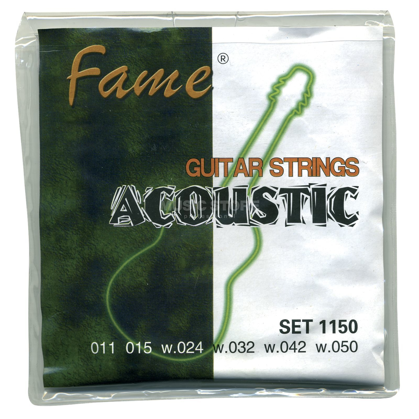 Fame A-Guitar Strings,11-50 round wound Produktbillede