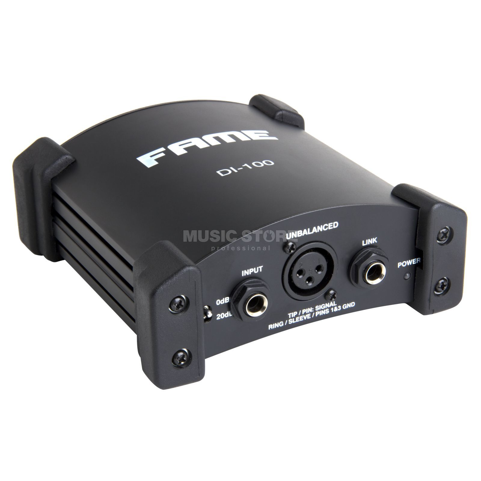 Fame audio DI-100 aktive DI Box Produktbild